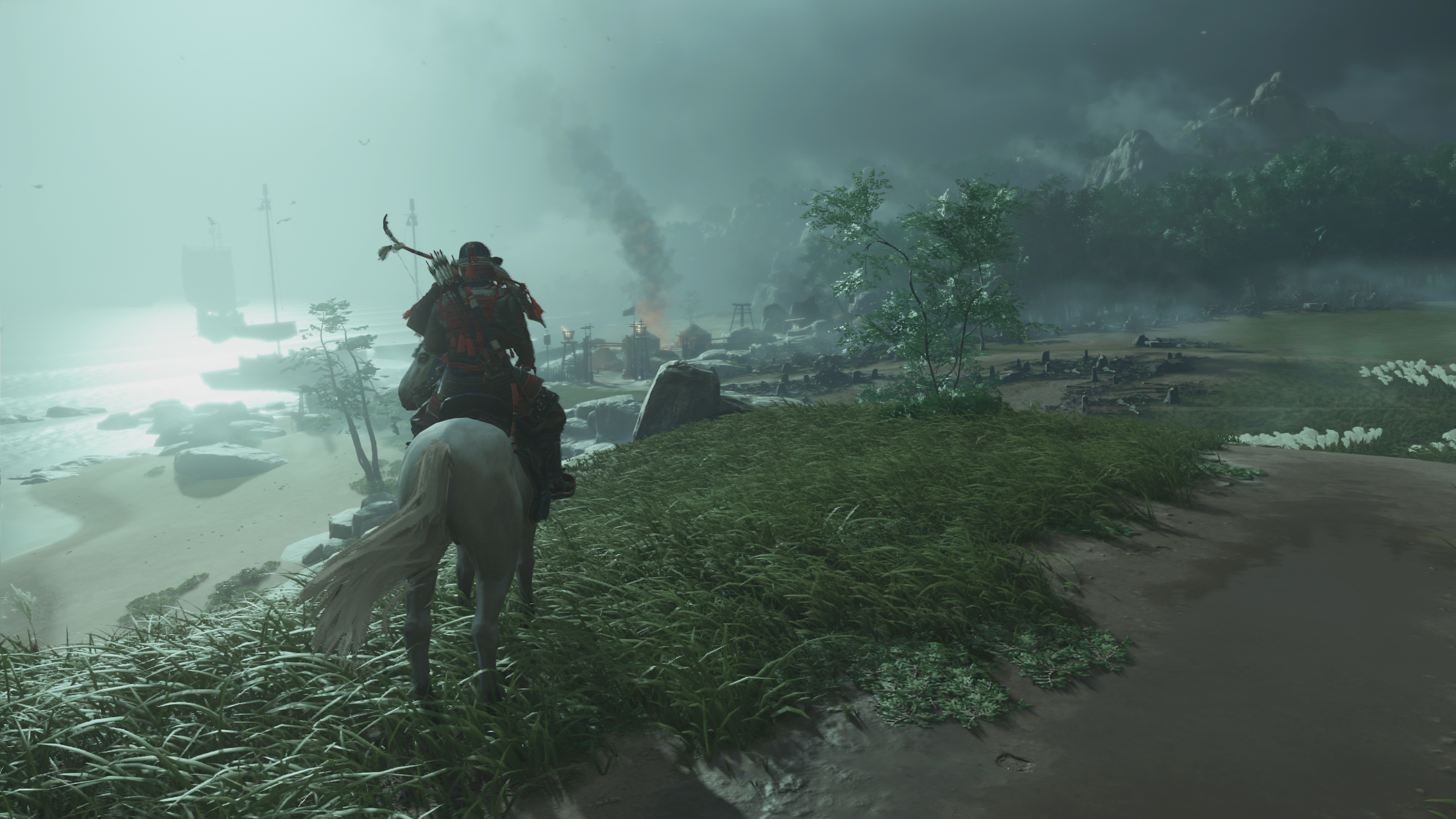 ghost of tsushima background