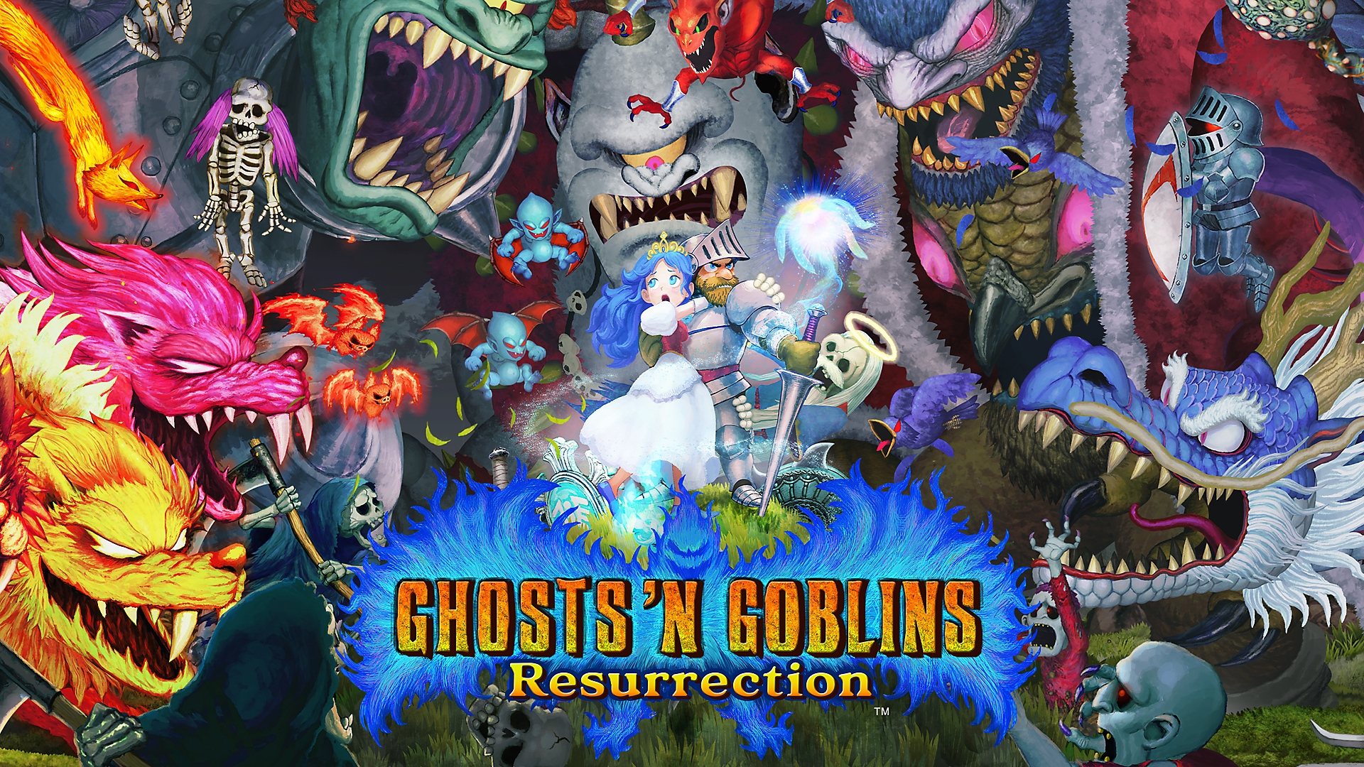 Ghosts n Goblins Resurrection - Launch Trailer | PS4