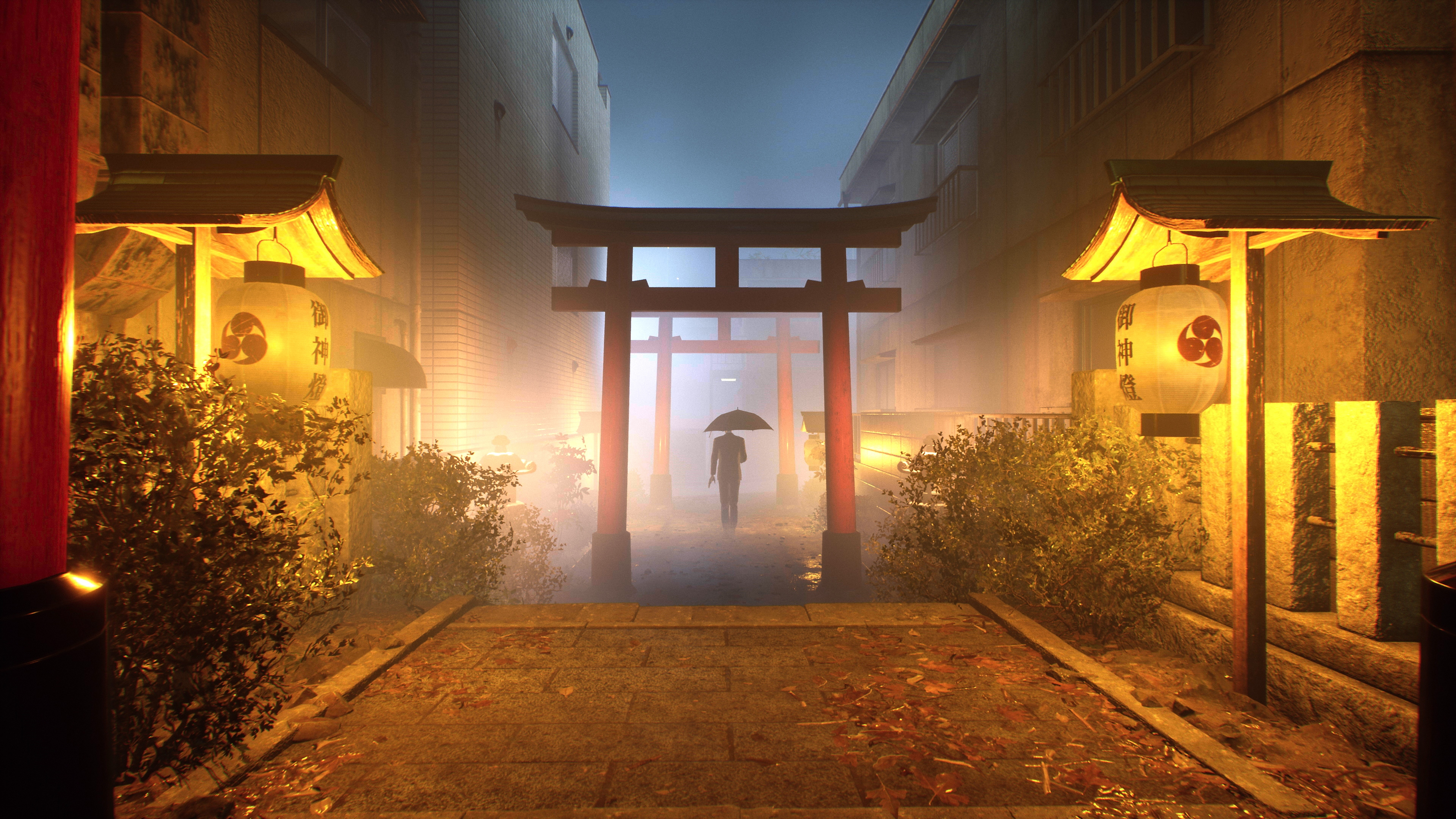 GhostWire: Tokyo – Game Overview Background Art