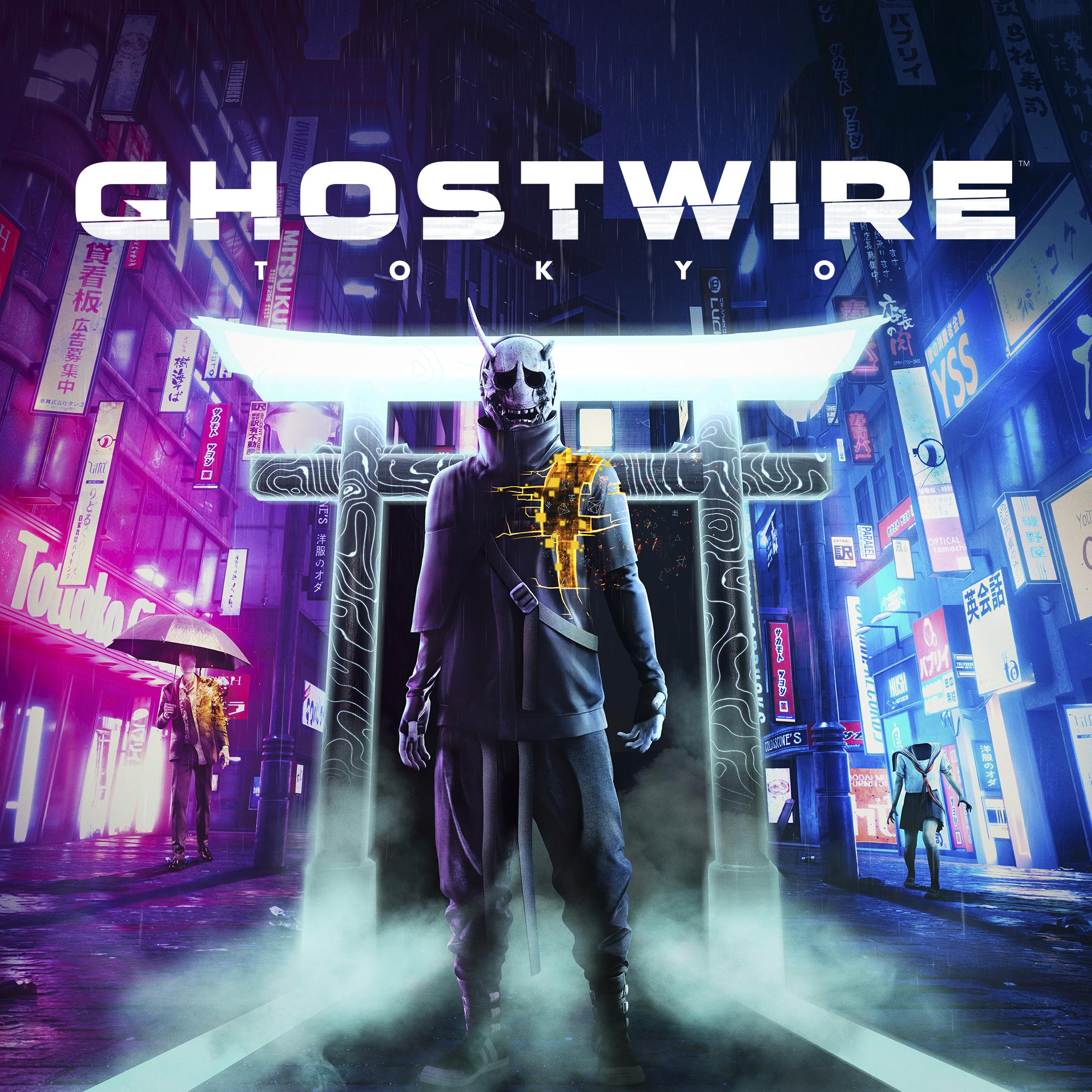 Ghostwire: Tokyo – grafika z obchodu