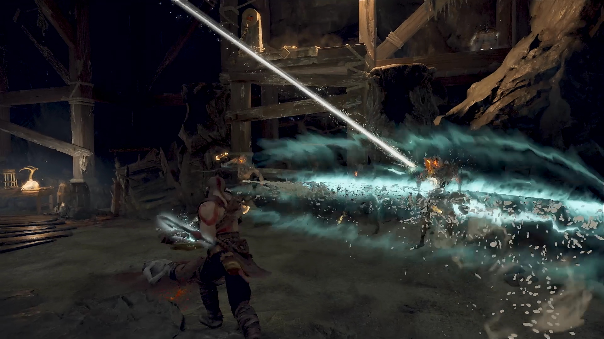 captura de pantalla de god of war