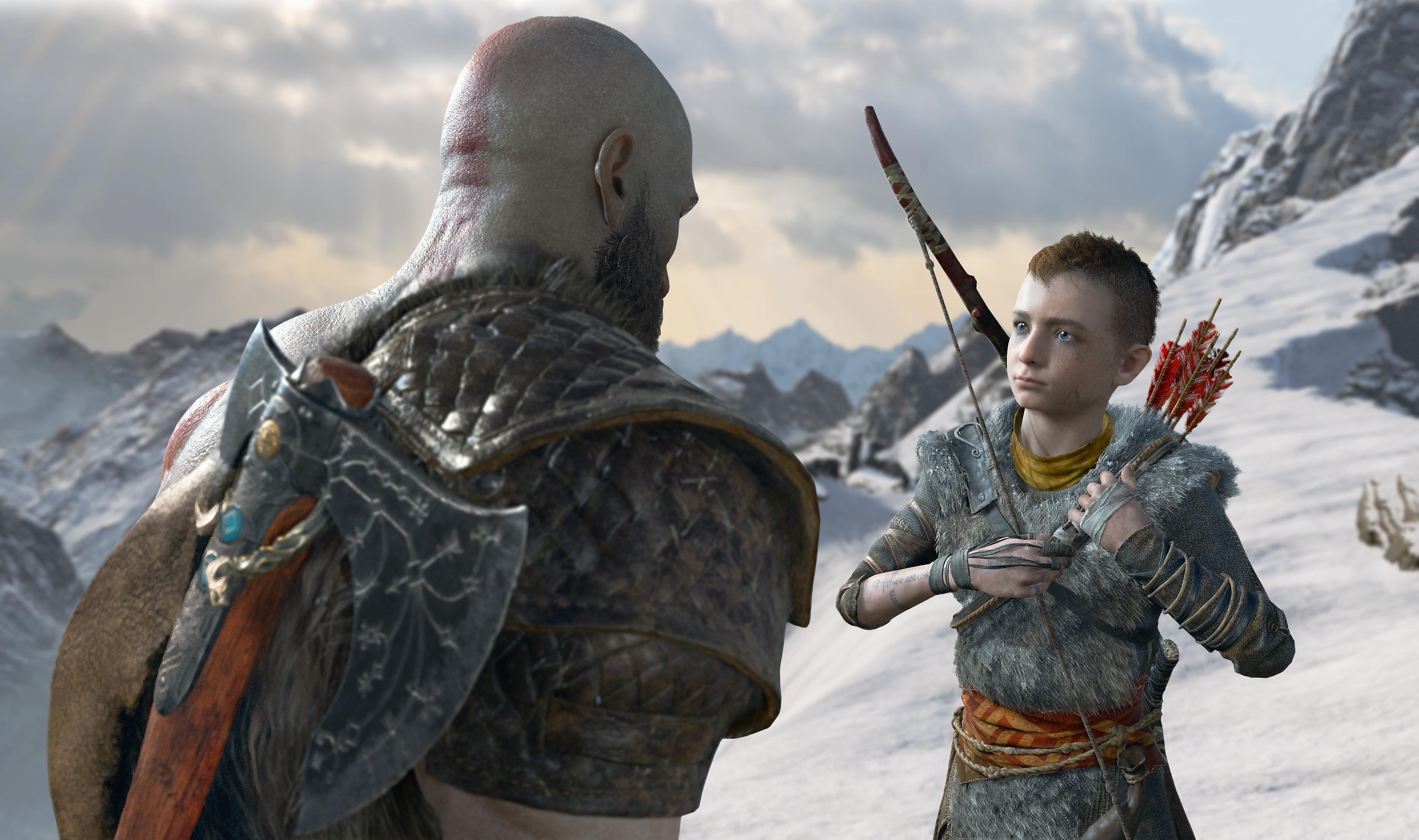 god of war - père et fils