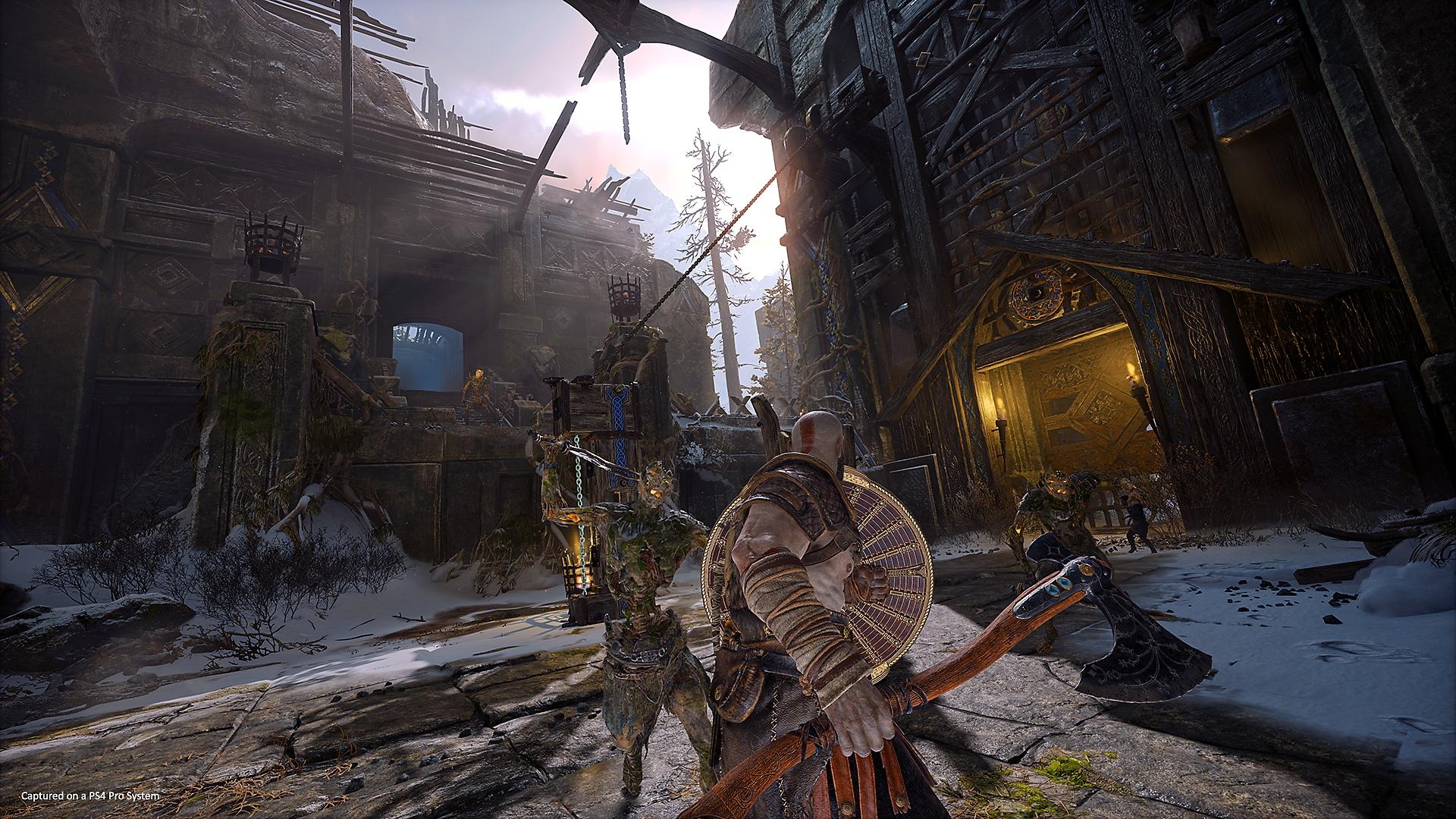 دليل PlayStation للعبة God of War - لقطة شاشة المستويات