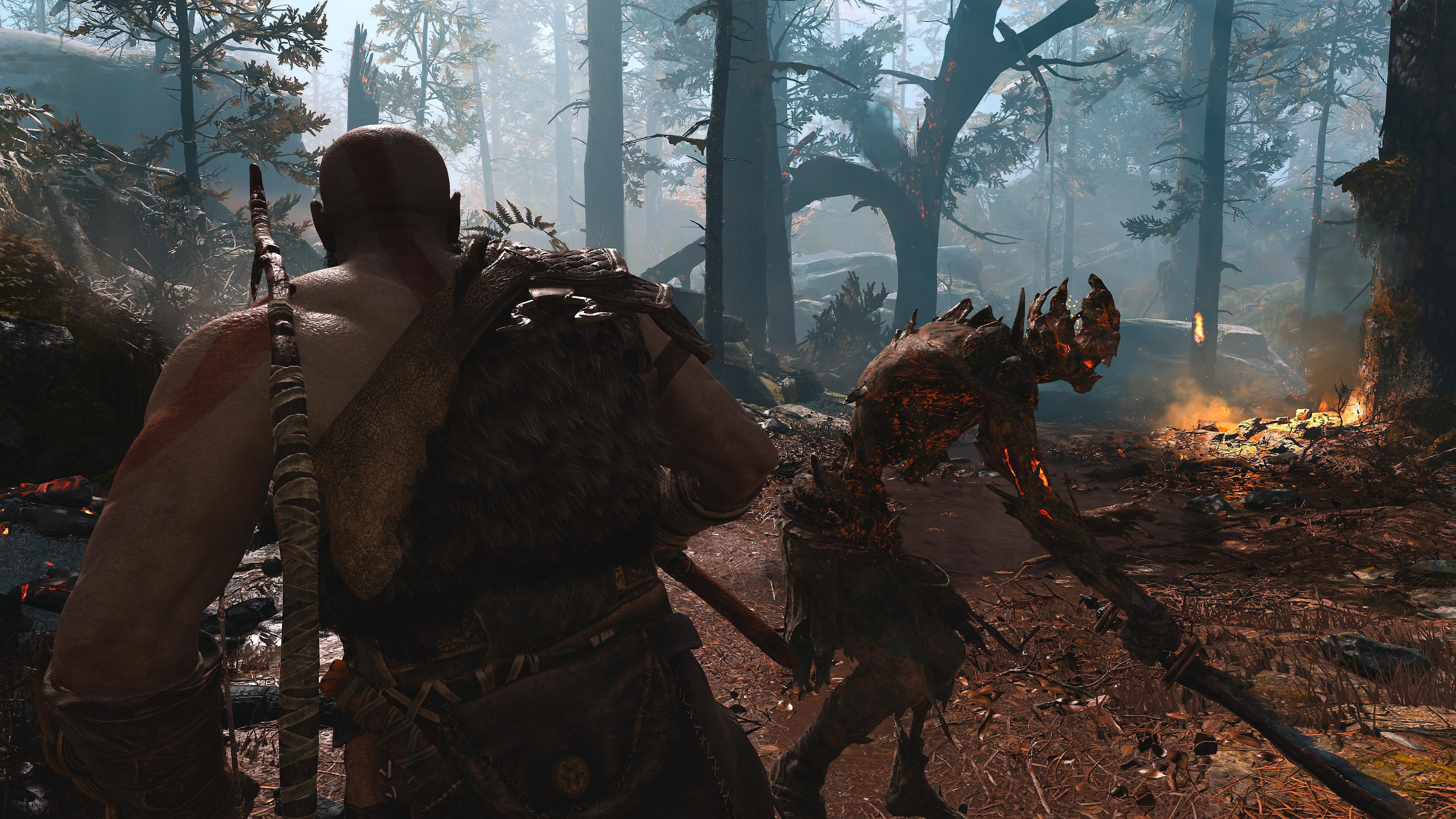 دليل PlayStation للعبة God of War - لقطة شاشة التفادي