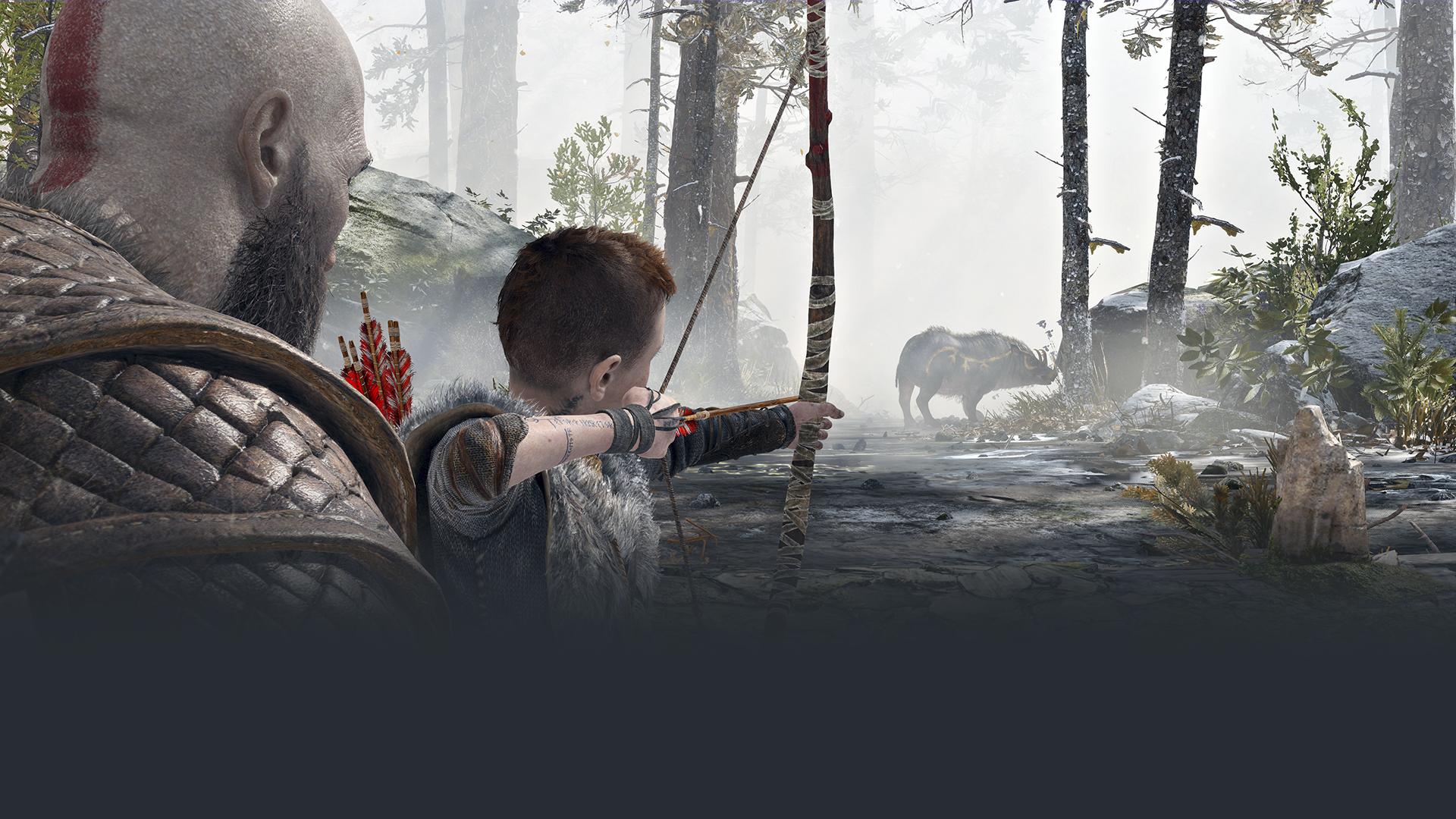 دليل PlayStation للعبة God of War - صورة البطل الفنية