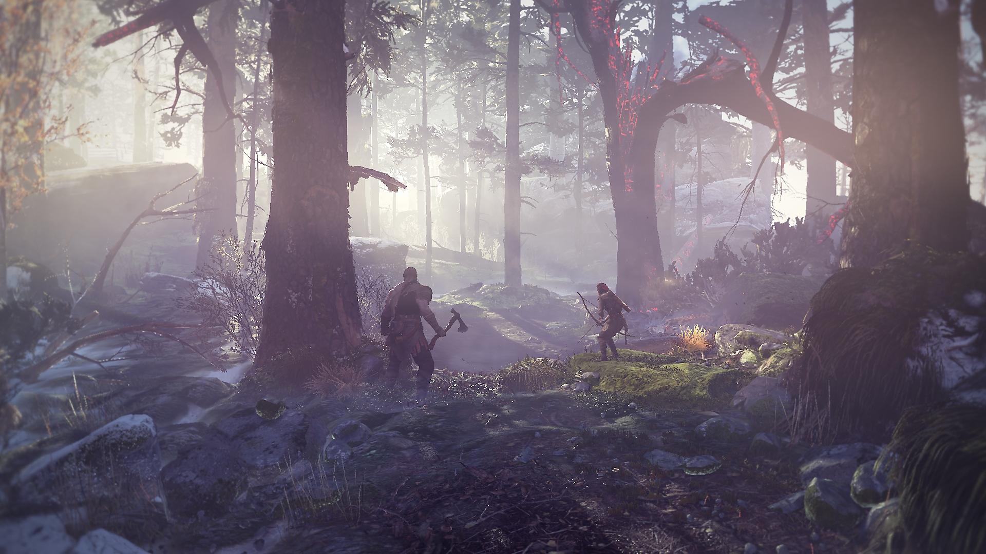 دليل PlayStation للعبة God of War - لقطة شاشة المقدمة