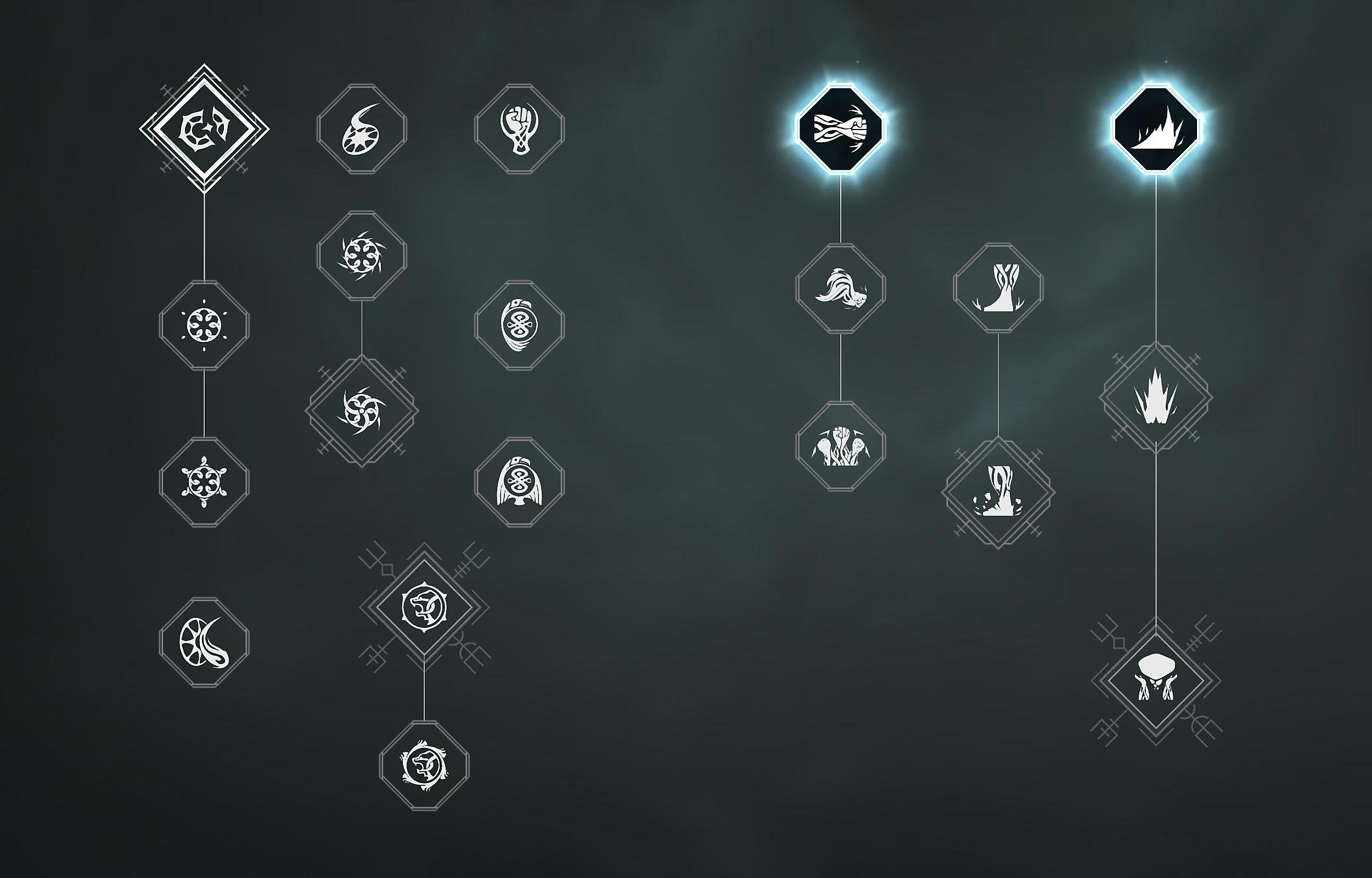 دليل PlayStation للعبة God of War - لقطة شاشة المهارات