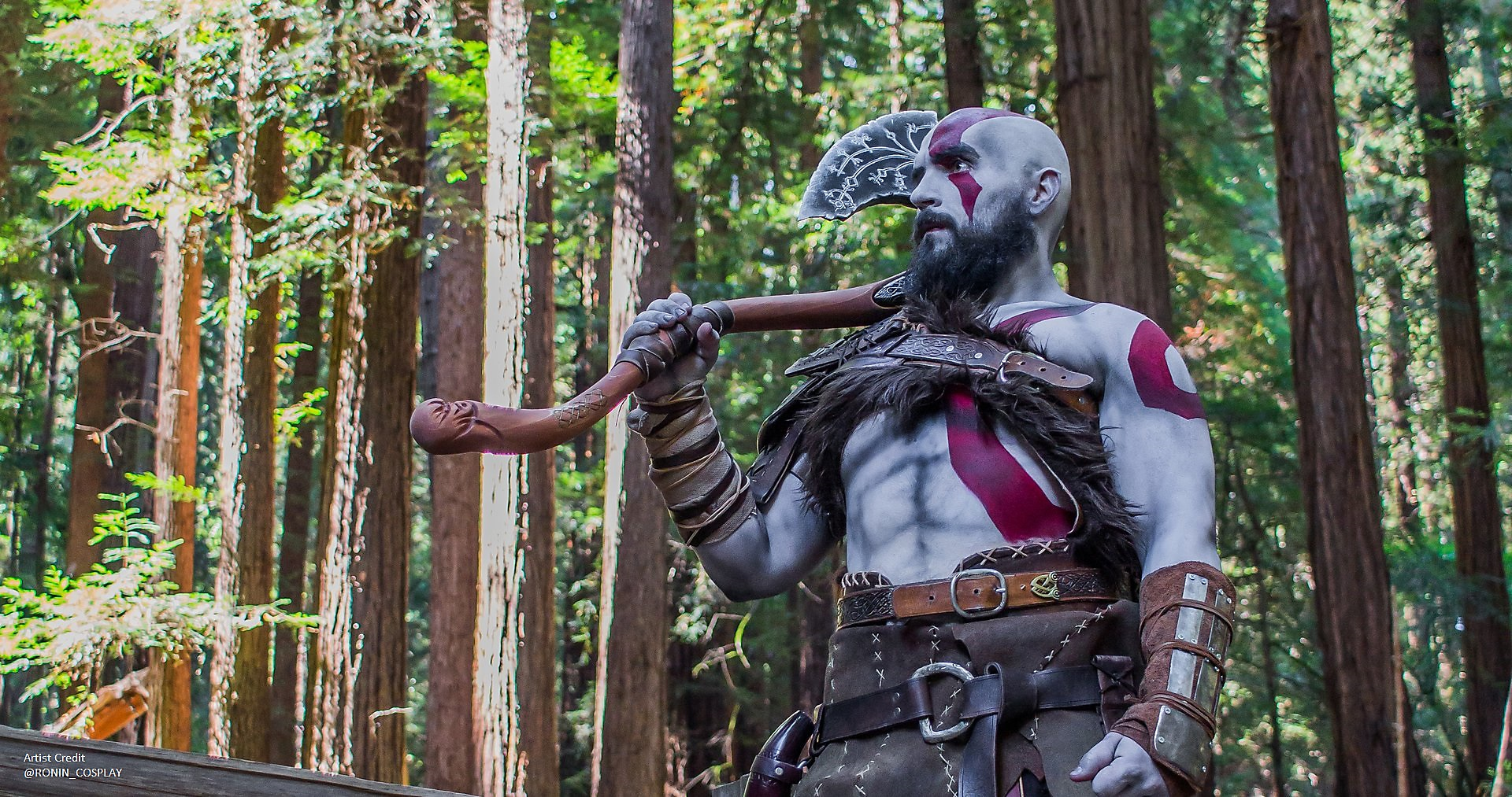 kratos cosplay