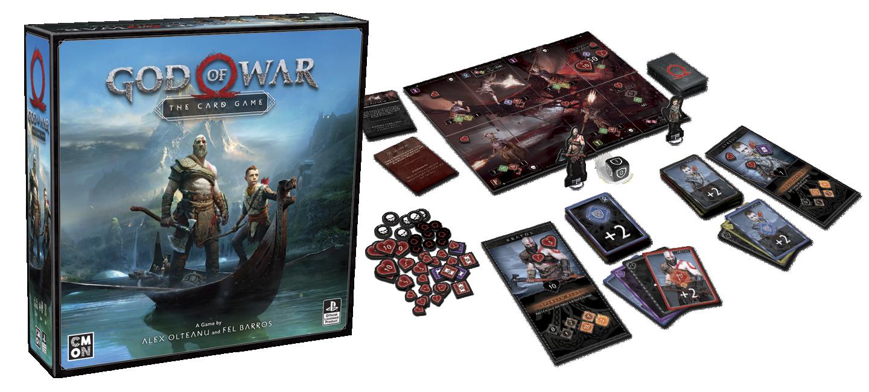 god of war board game