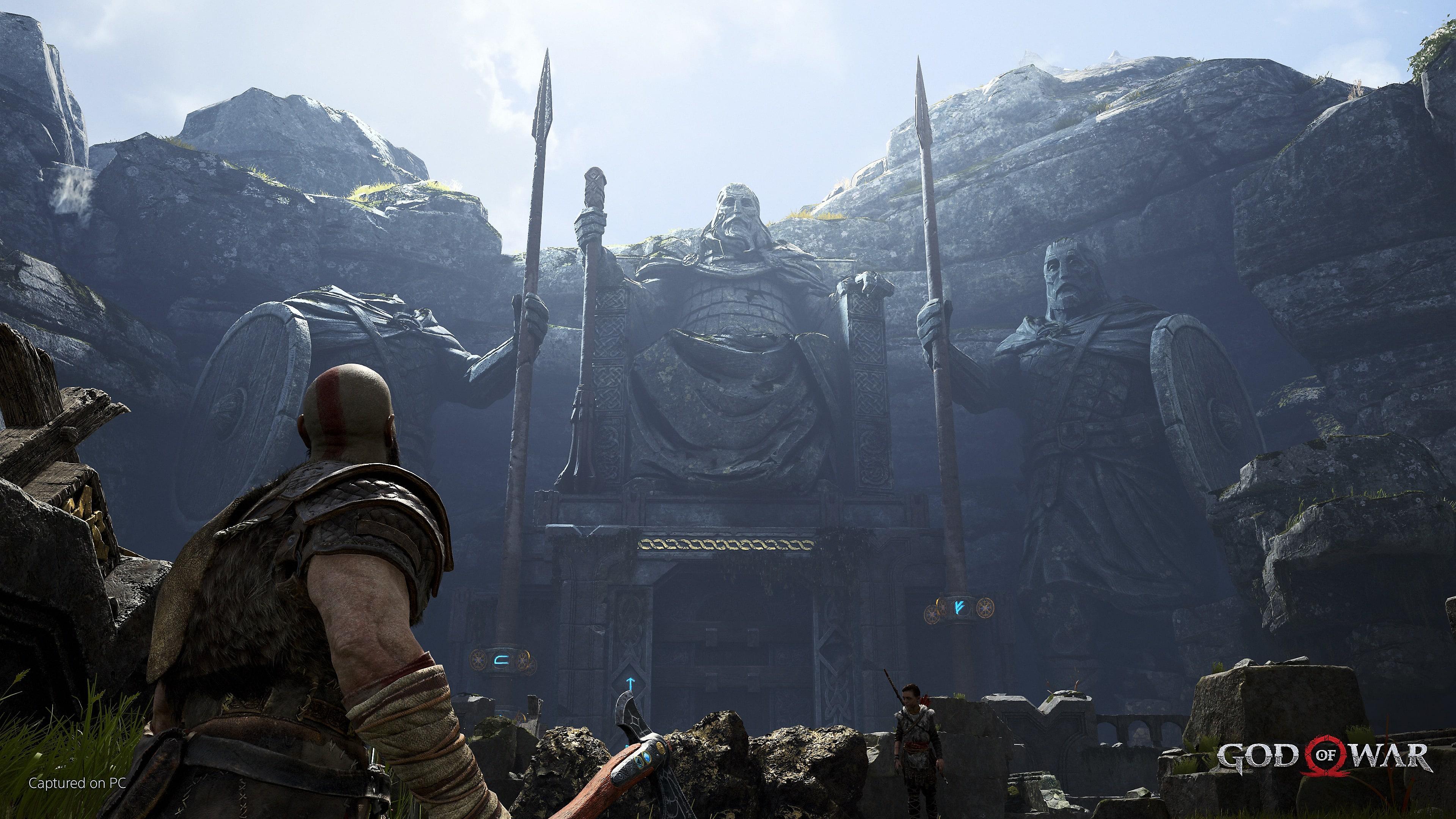 fondo de god of war para pc