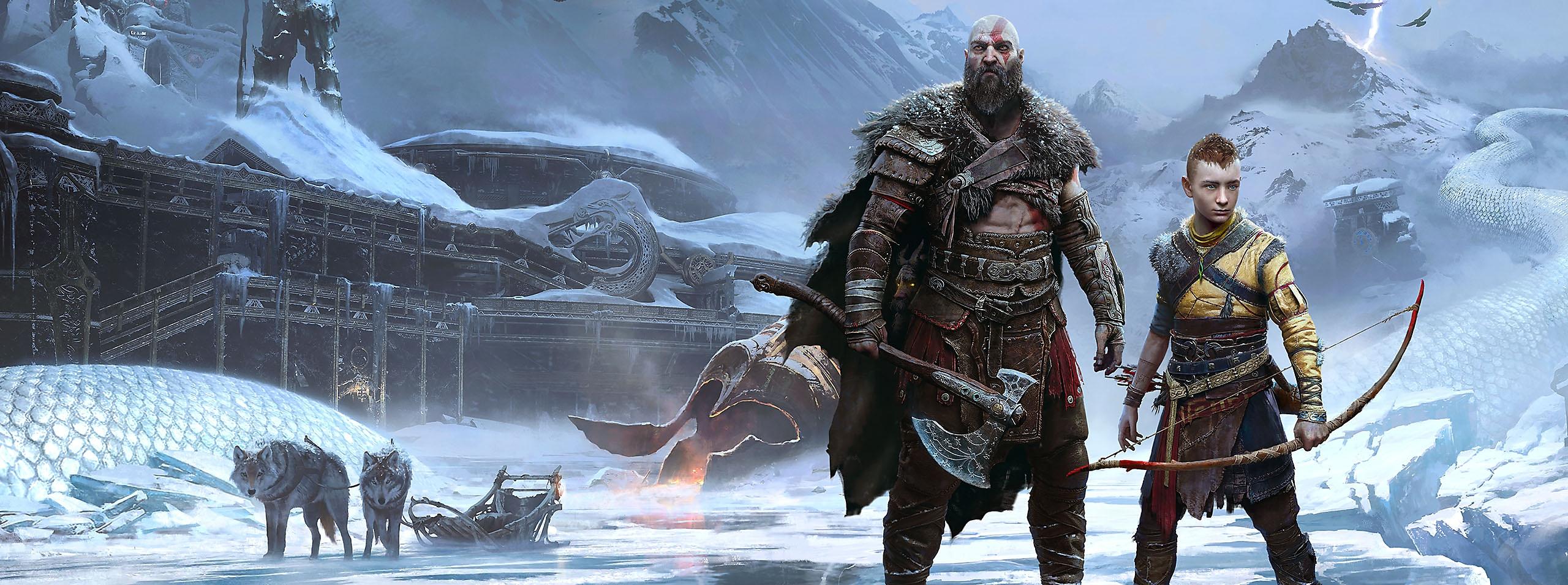 God of War Ragnarok - Key Art