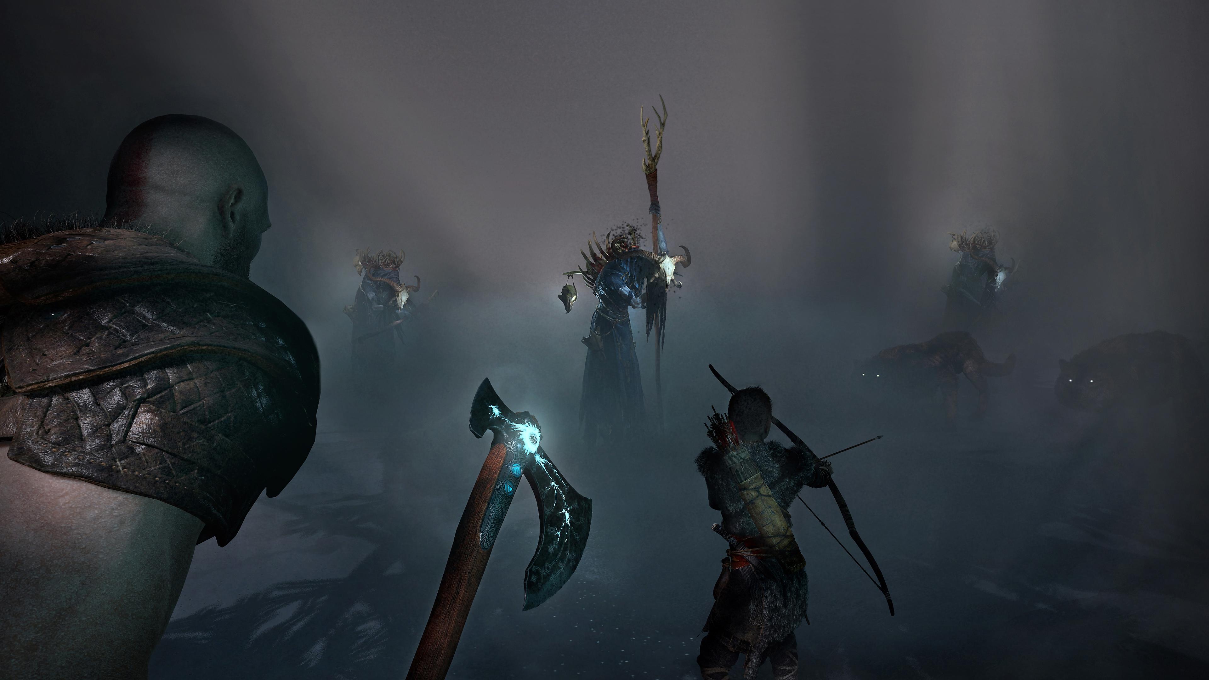 god of war - Arrière-plan