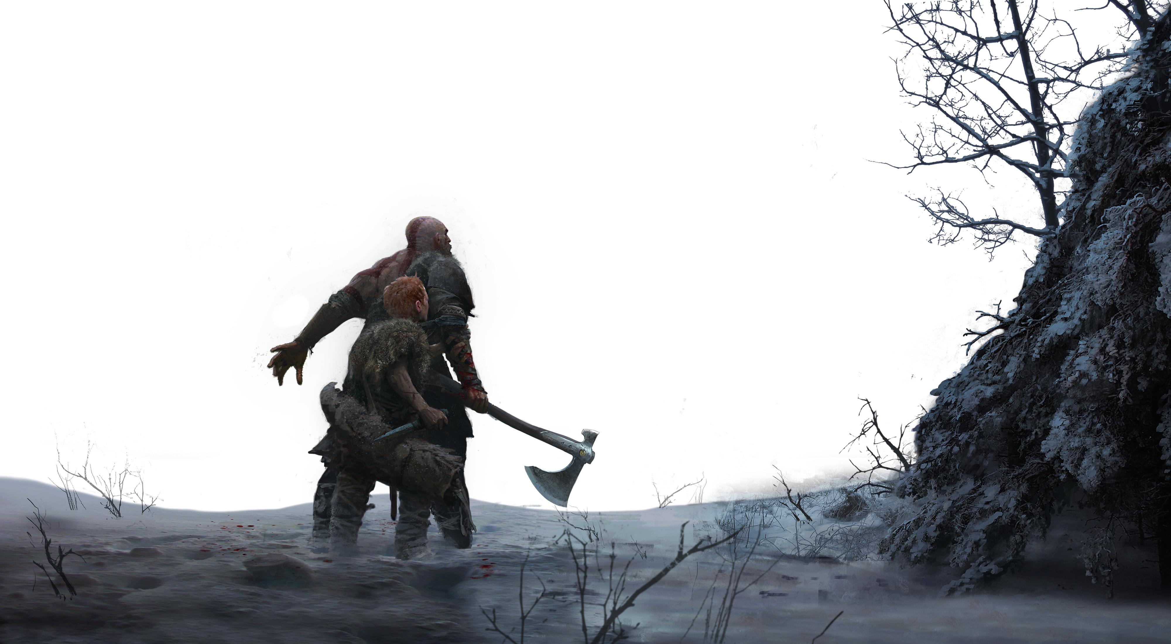 god of war - hiver