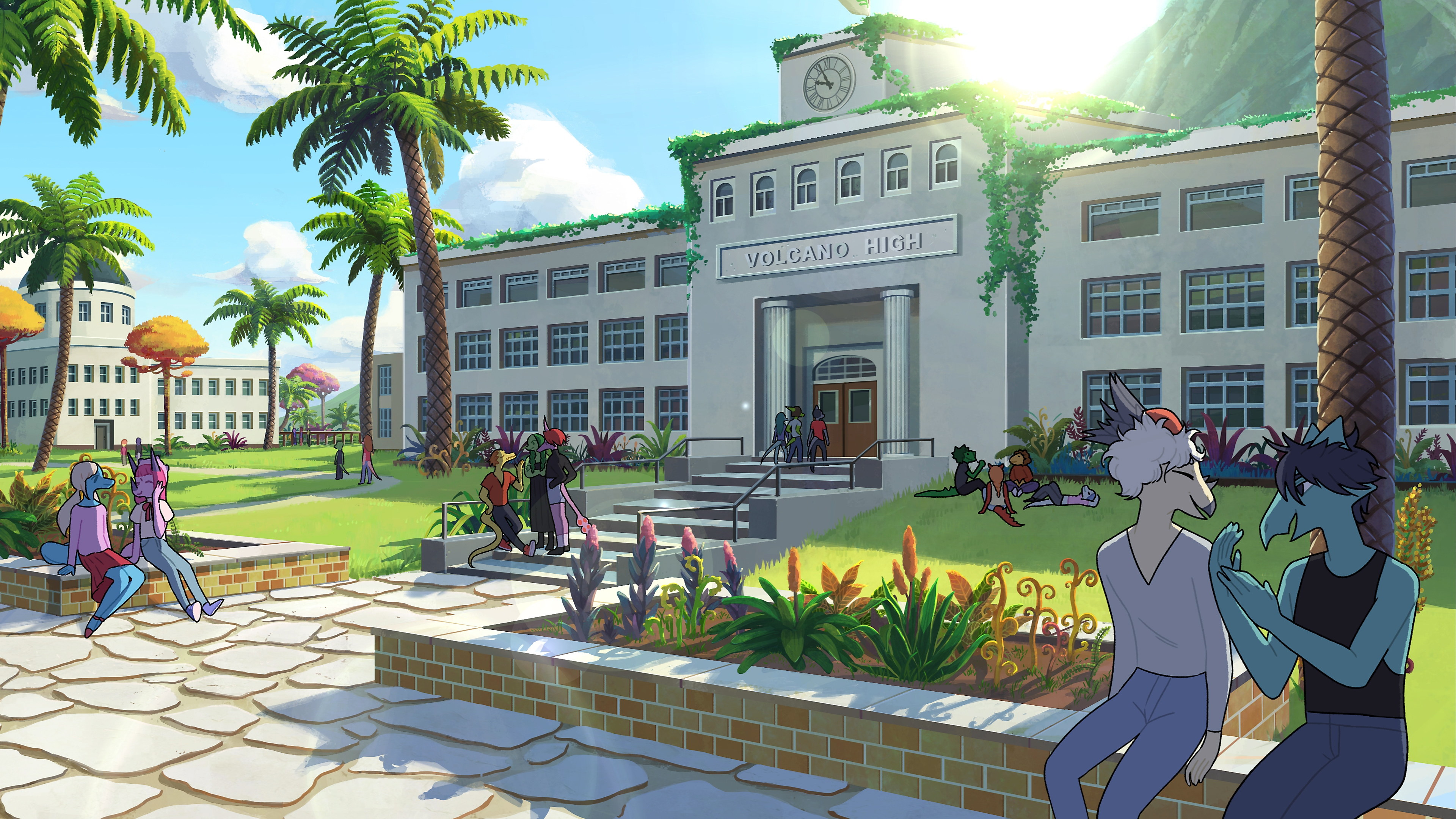 Goodbye Volcano High - reveal screenshot