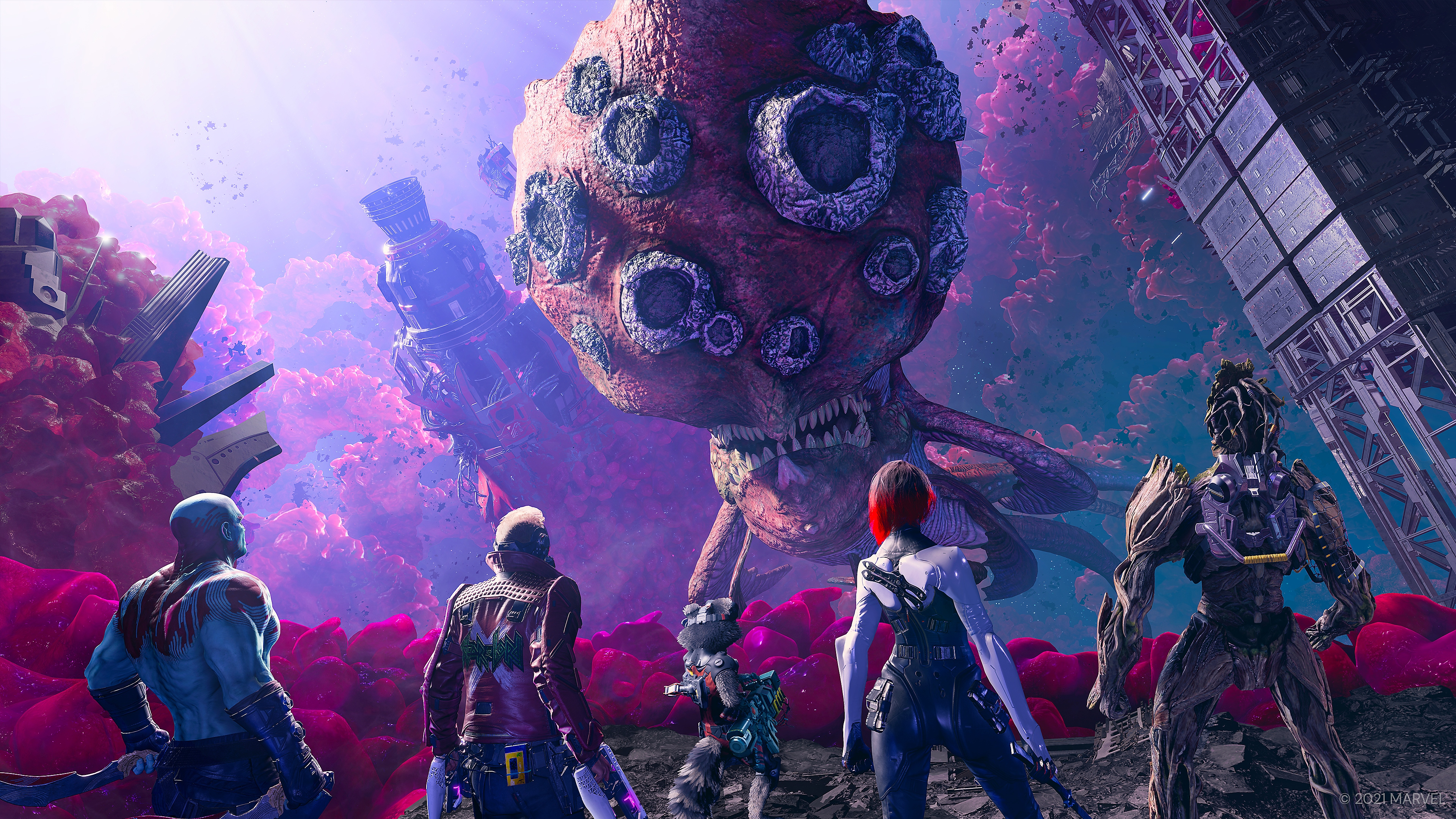 Marvel's Guardians of the Galaxy screenshot