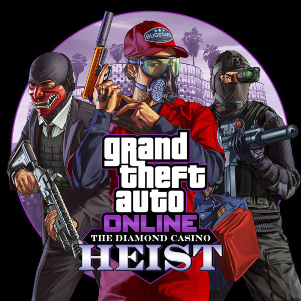 Grand Theft Auto Online - The Diamond Casino Heist Key Art