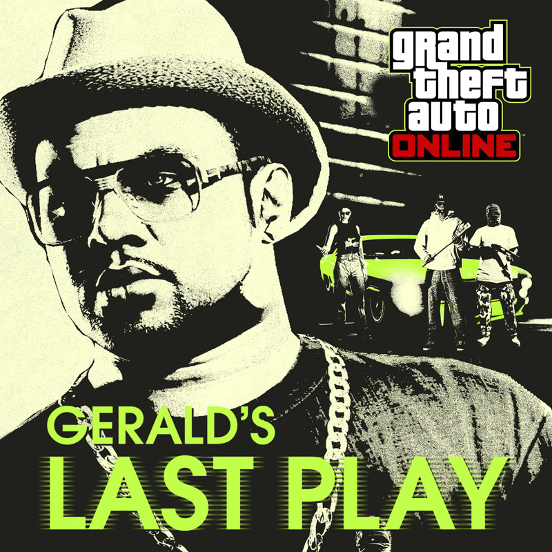 Grand Theft Auto Online - Gerald's Last Play Key Art