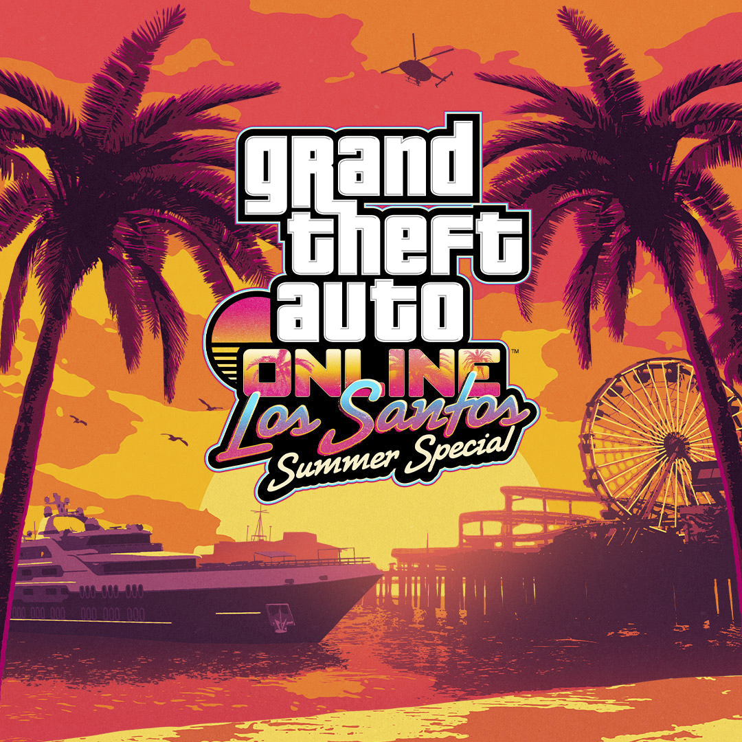 Grand Theft Auto Online – Los Santos Summer Special Key Art