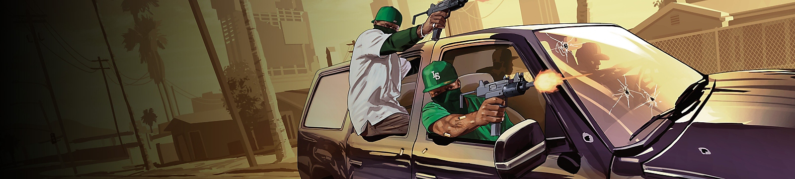 Grand Theft Auto Online - Arte de fondo PlayStation Plus