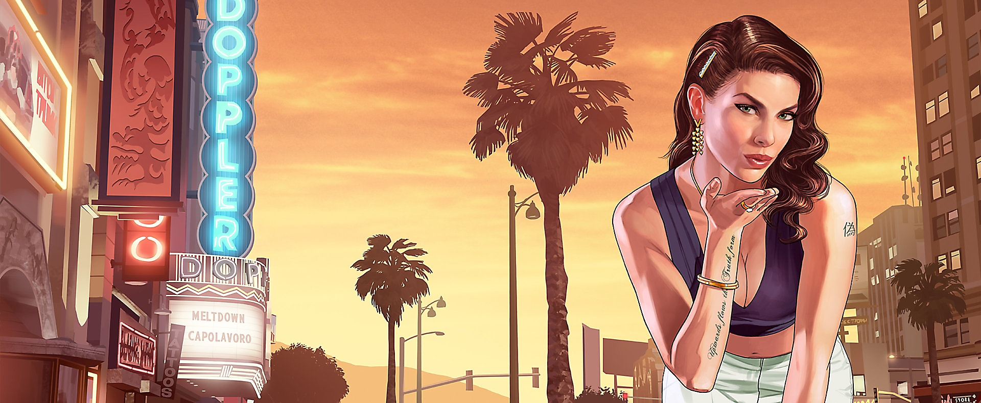 Grand Theft Auto V - Key Art