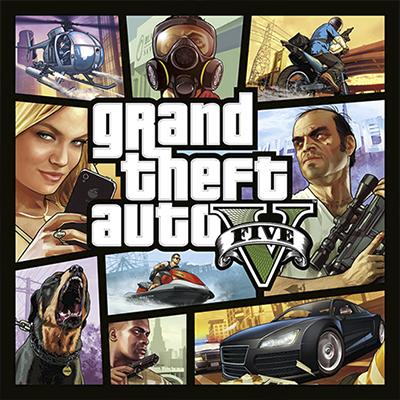 Grand Theft Auto V - Arte de tienda