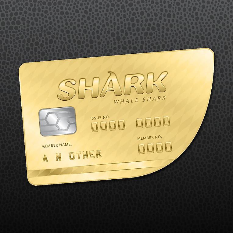 Packshot de GTAV Online: Tarjeta de crédito tiburón ballena