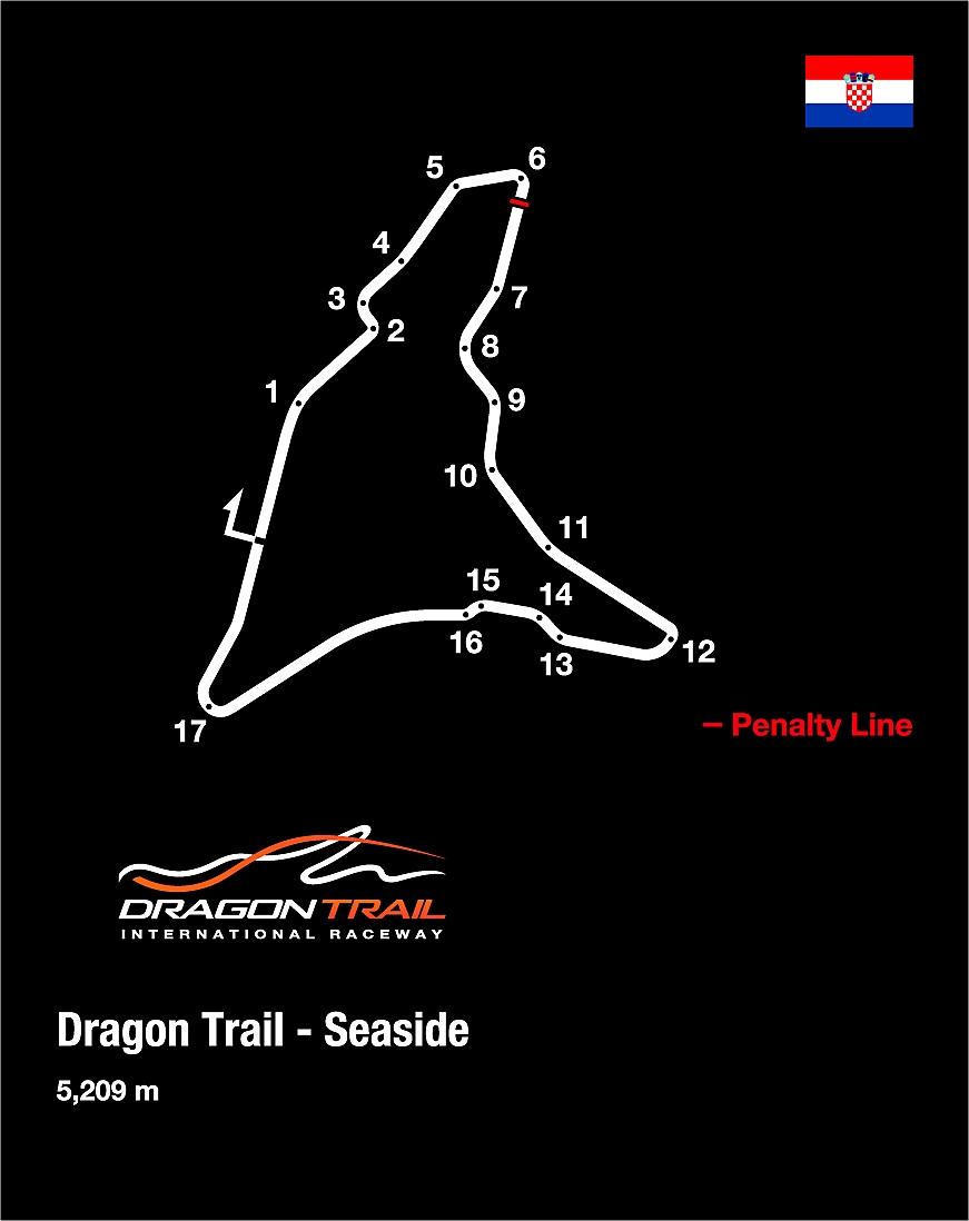 ドラゴントレイル・シーサイド コース画像