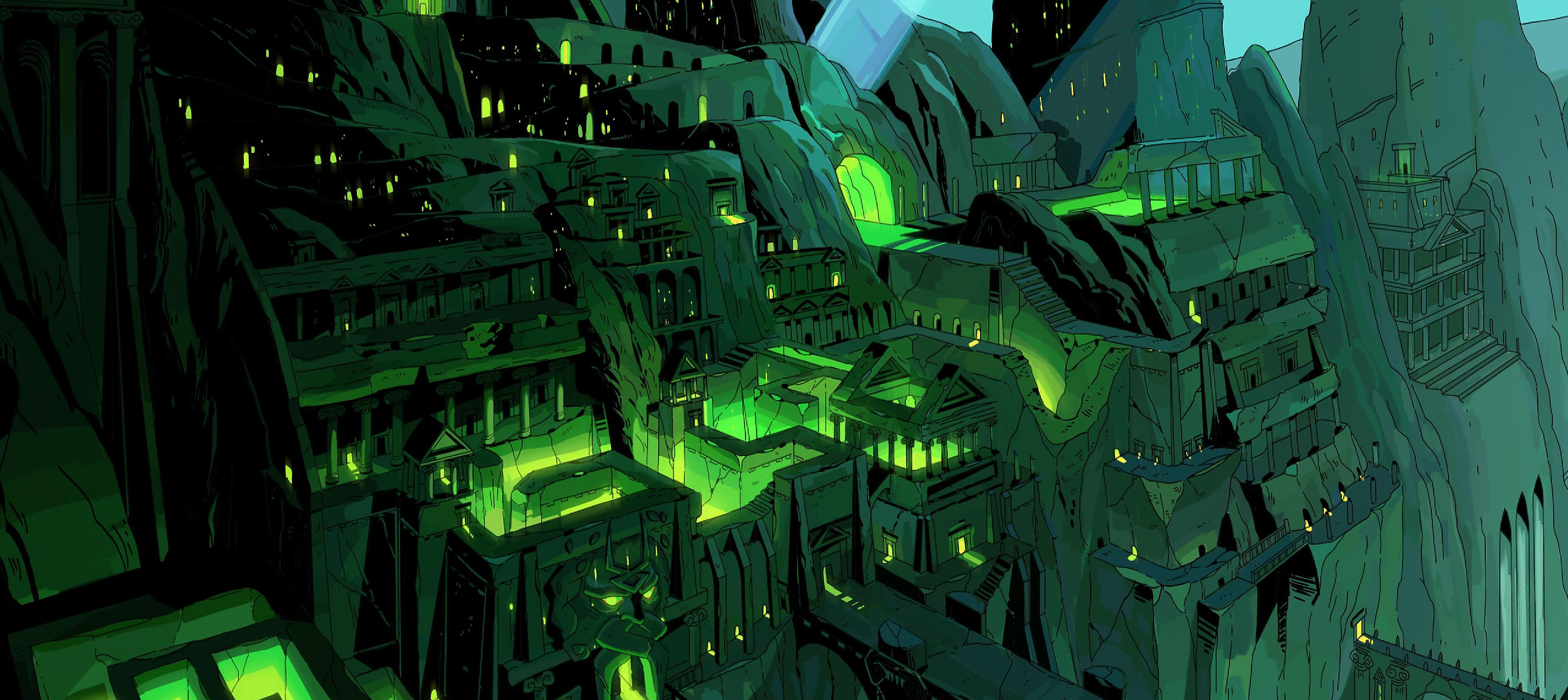 Hades - Illustration d'arrière-plan