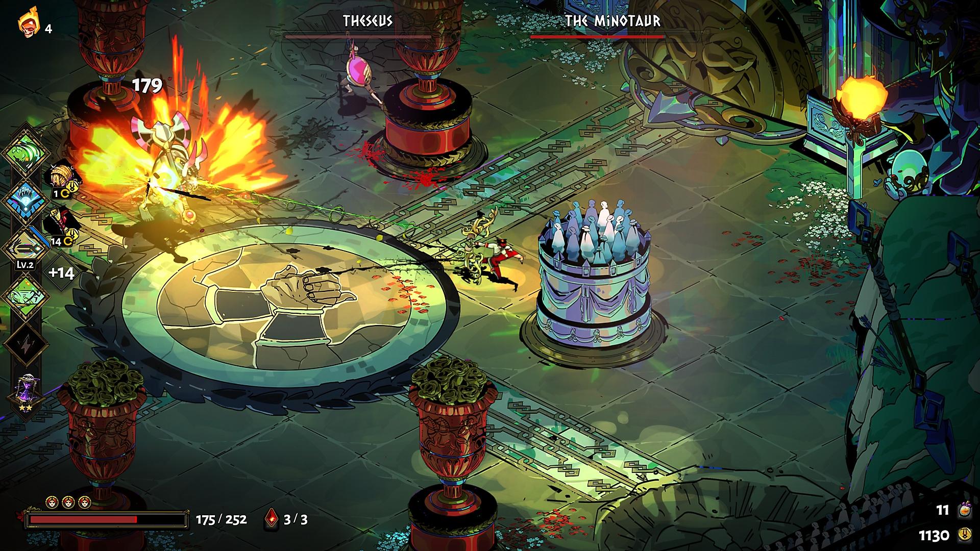 Capture d'écran de Hades