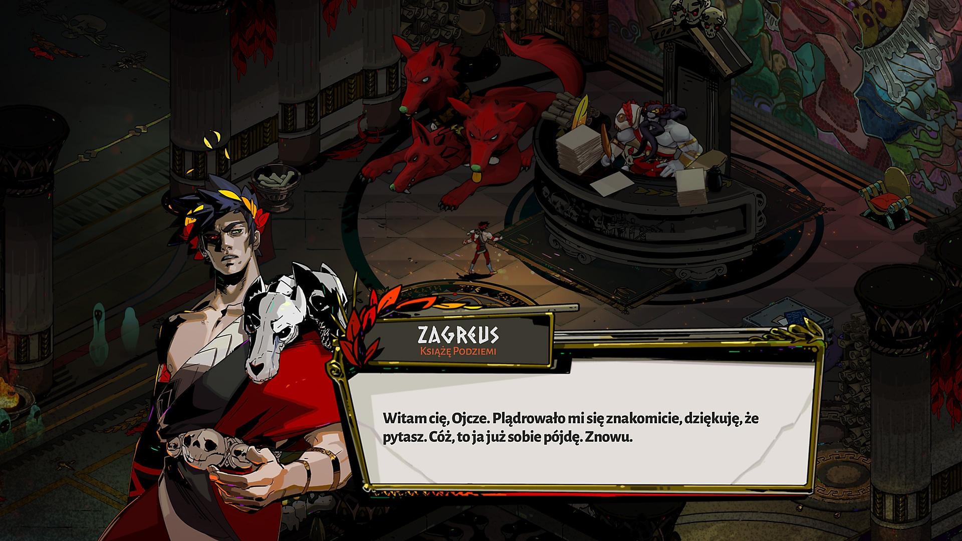 Hades – zrzut ekranu