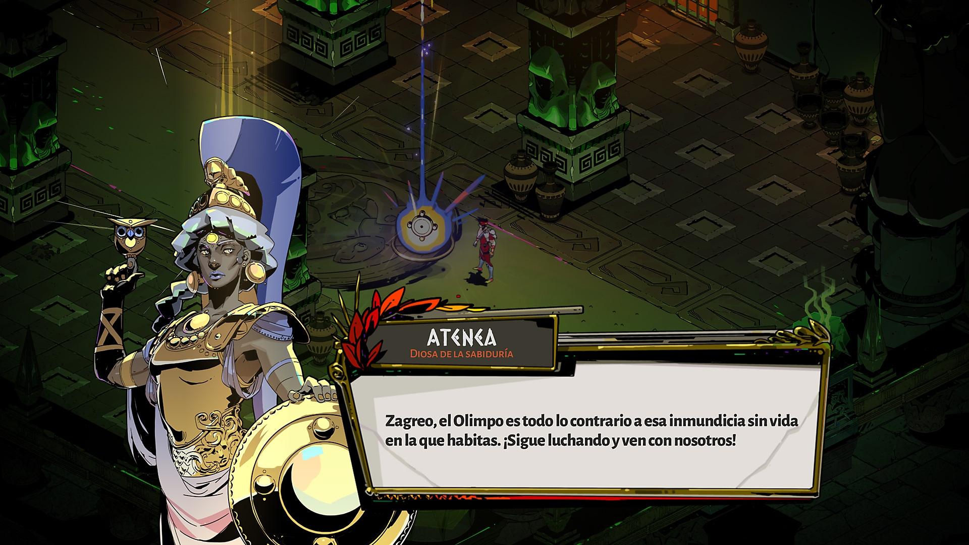 Captura de pantalla de Hades