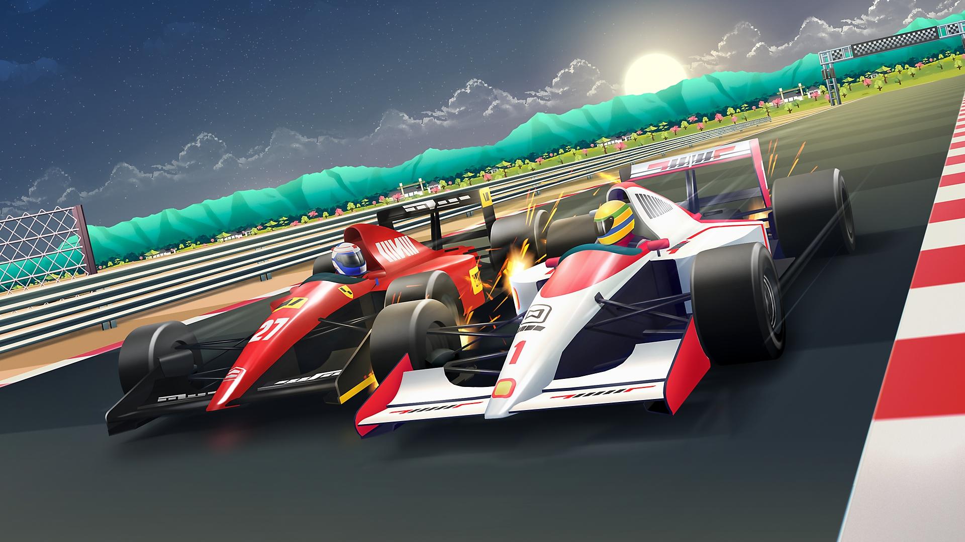 Horizon Chase Turbo Senna Forever - Screenshot   PS4, PS5
