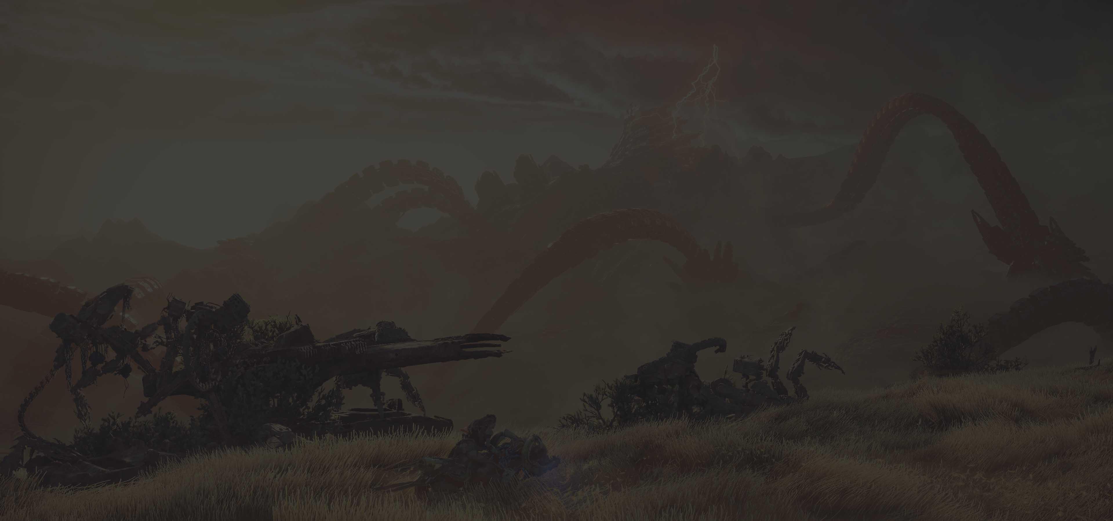 horizon forbidden west φόντο