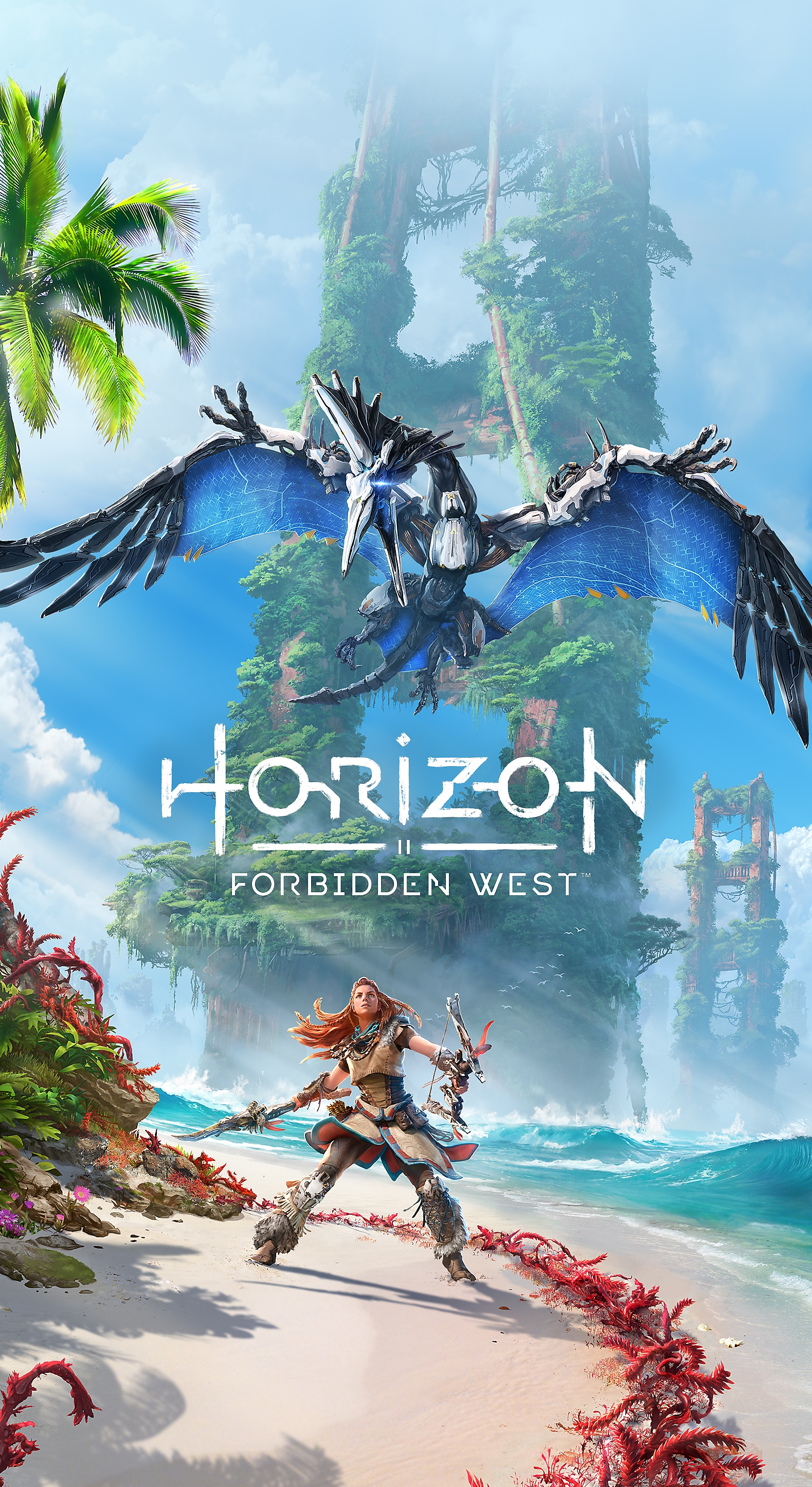 Horizon Forbidden West tablet wallpaper