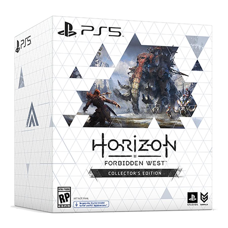 horizon forbidden west collector's
