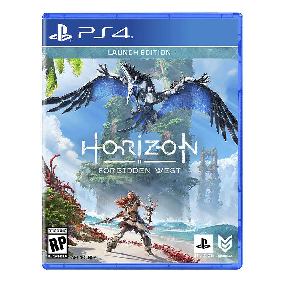 horizon forbidden west ps4 launch
