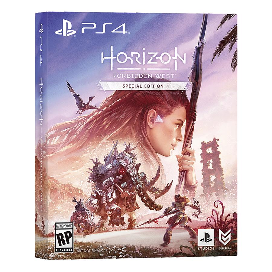 horizon forbidden west special ps4