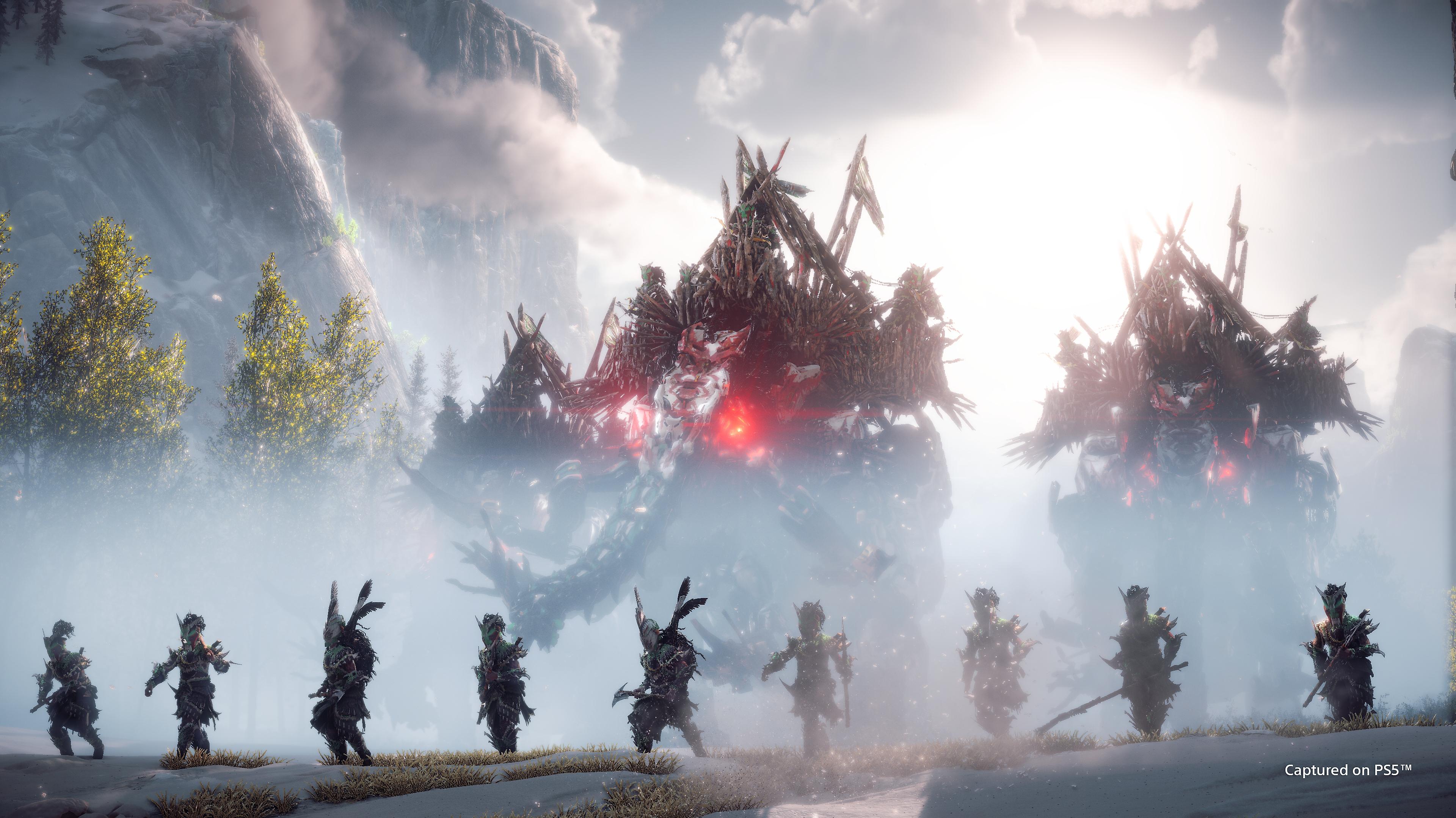 horizon forbidden west στιγμιότυπο οθόνης