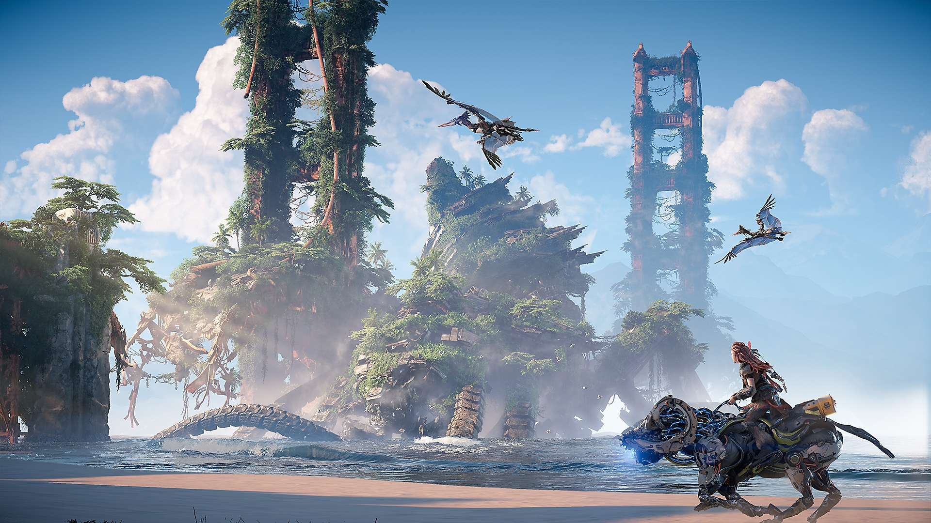 Horizon Forbidden West - captura de ecrã Novos Horizontes