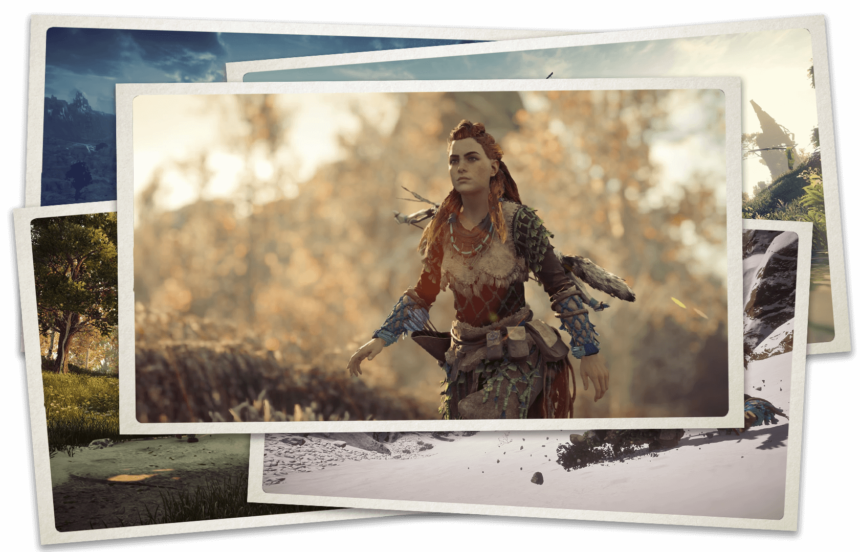 Mode photo de Horizon Zero Dawn
