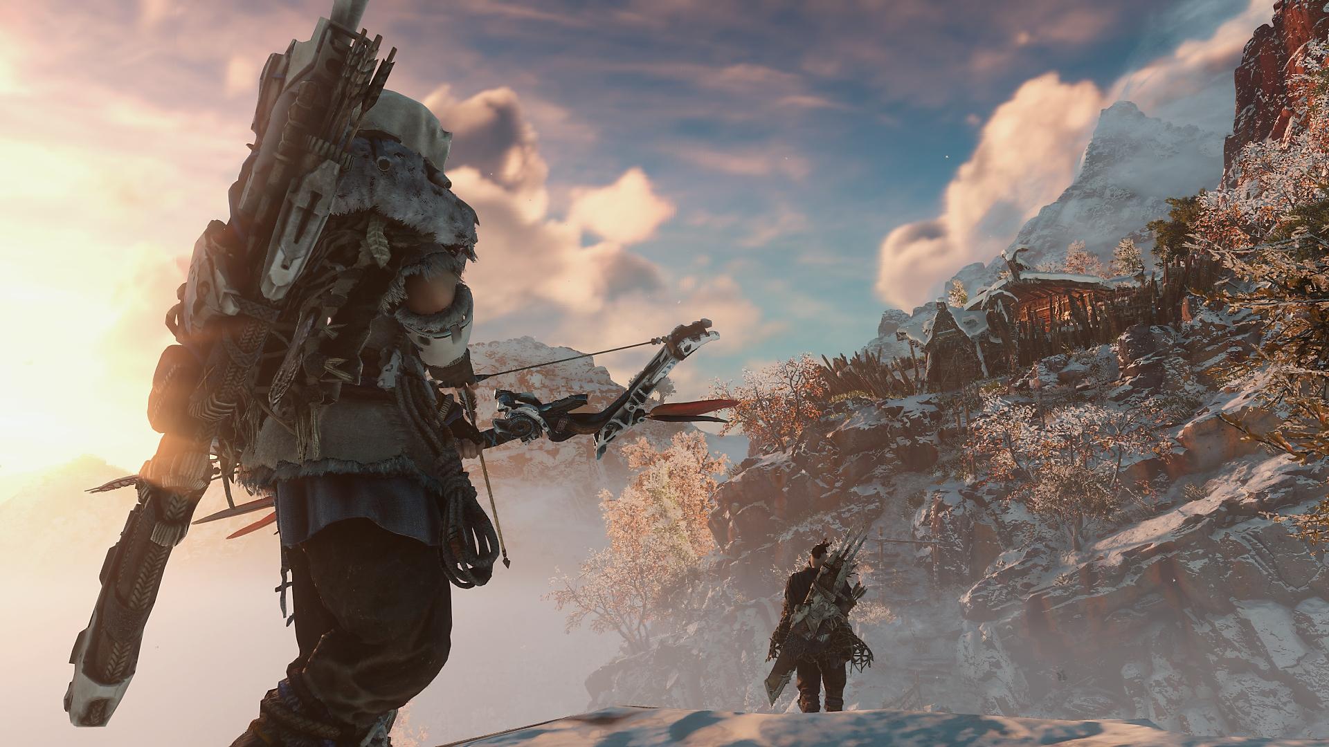 Horizon Zero Dawn - captura de ecrã