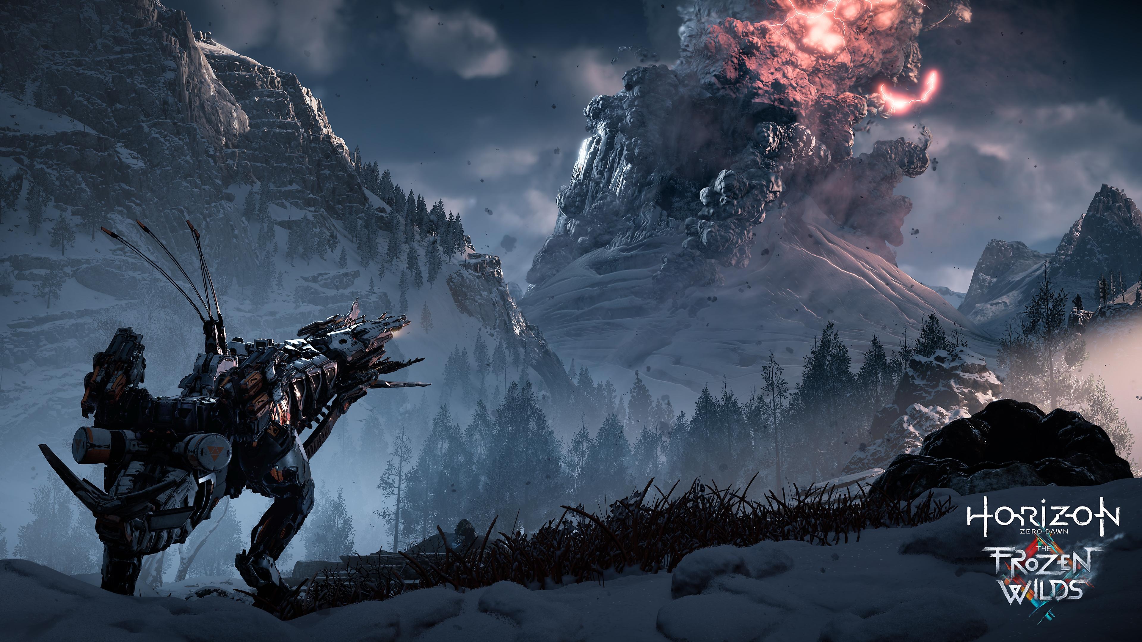 Horizon Zero Dawn - captura de ecrã The Frozen Wilds