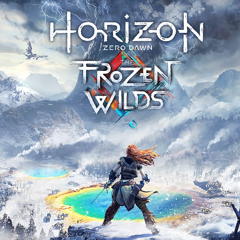 horizon zero dawn the frozen wilds packshot