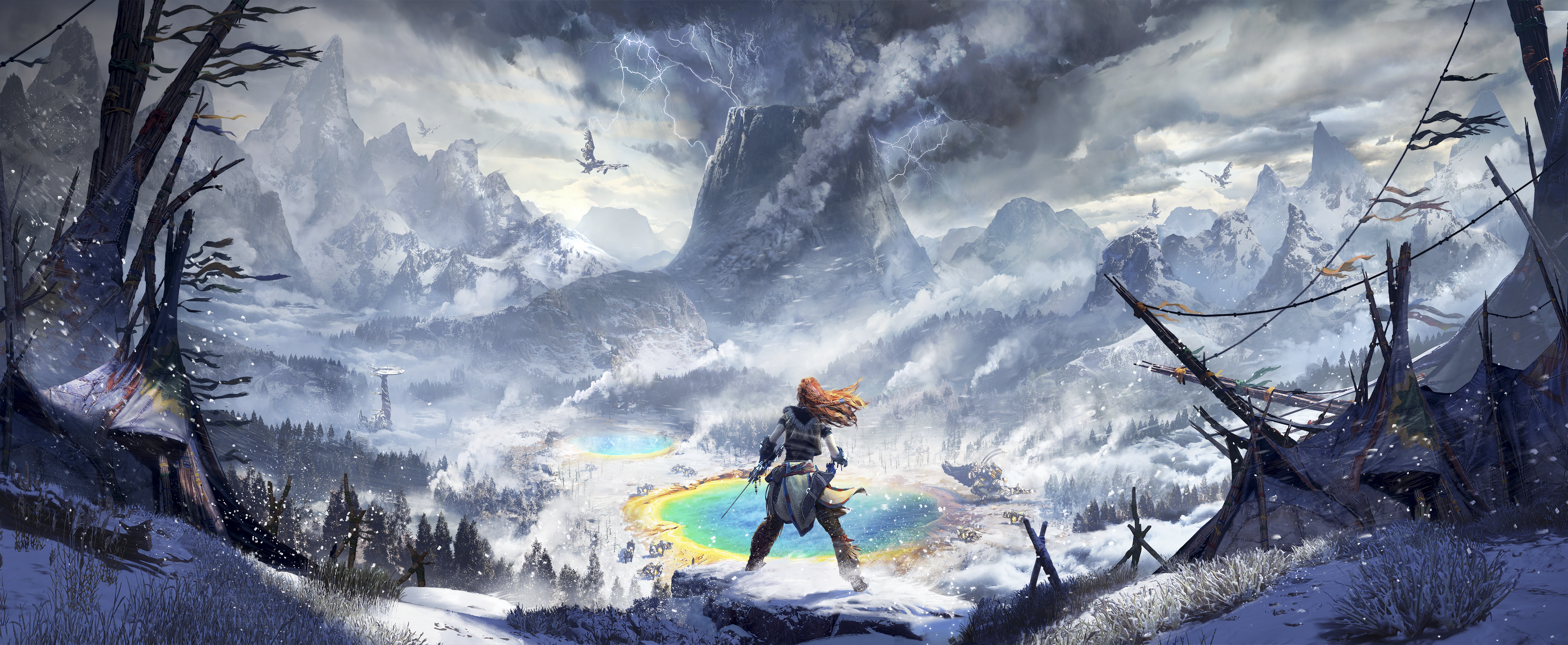 horizon zero dawn the frozen wilds hero