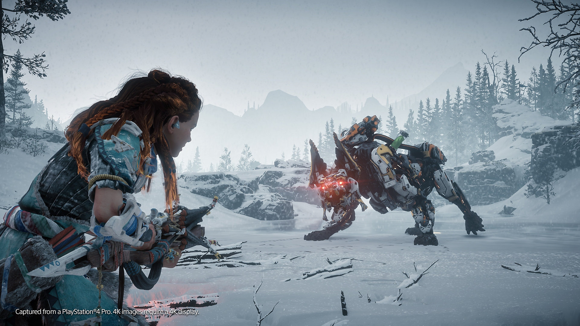 horizon zero dawn the frozen wilds screenshot