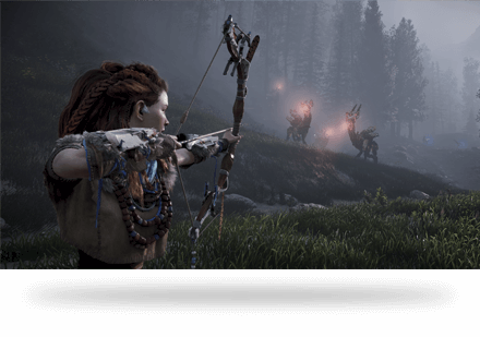 horizon zero dawn hunter bow