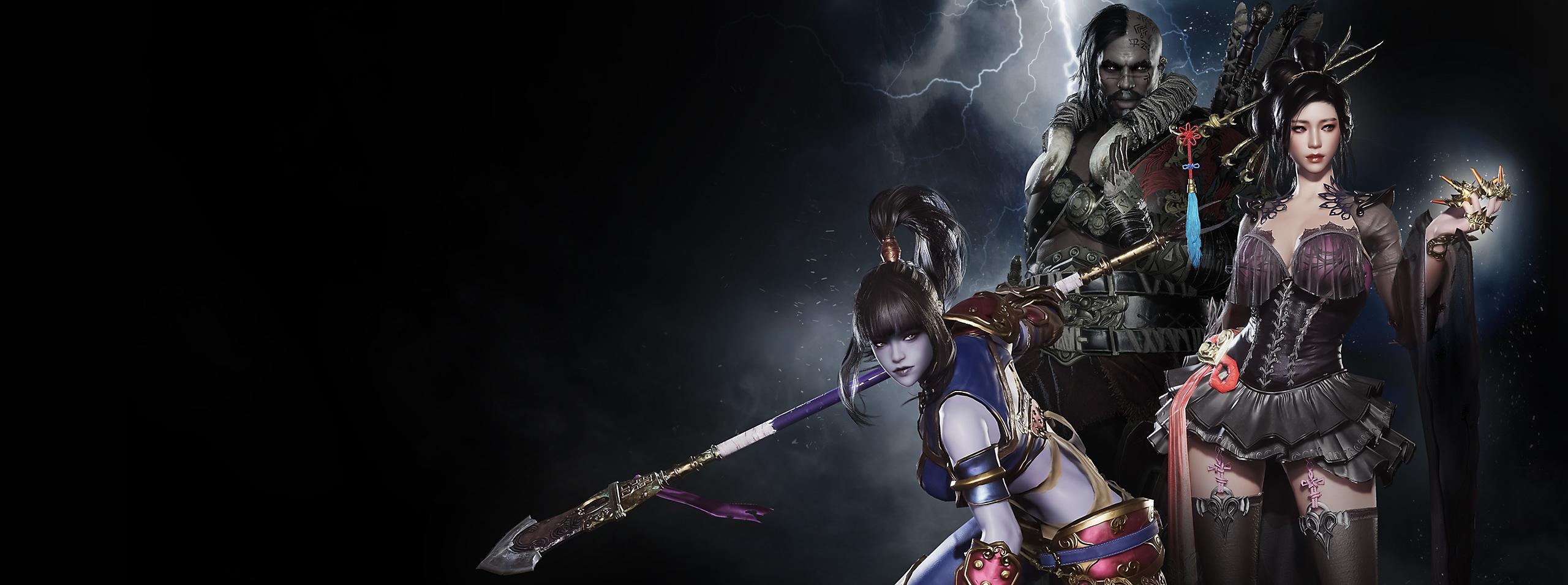 Hunter's Arena:Legends ヒーローアートワーク