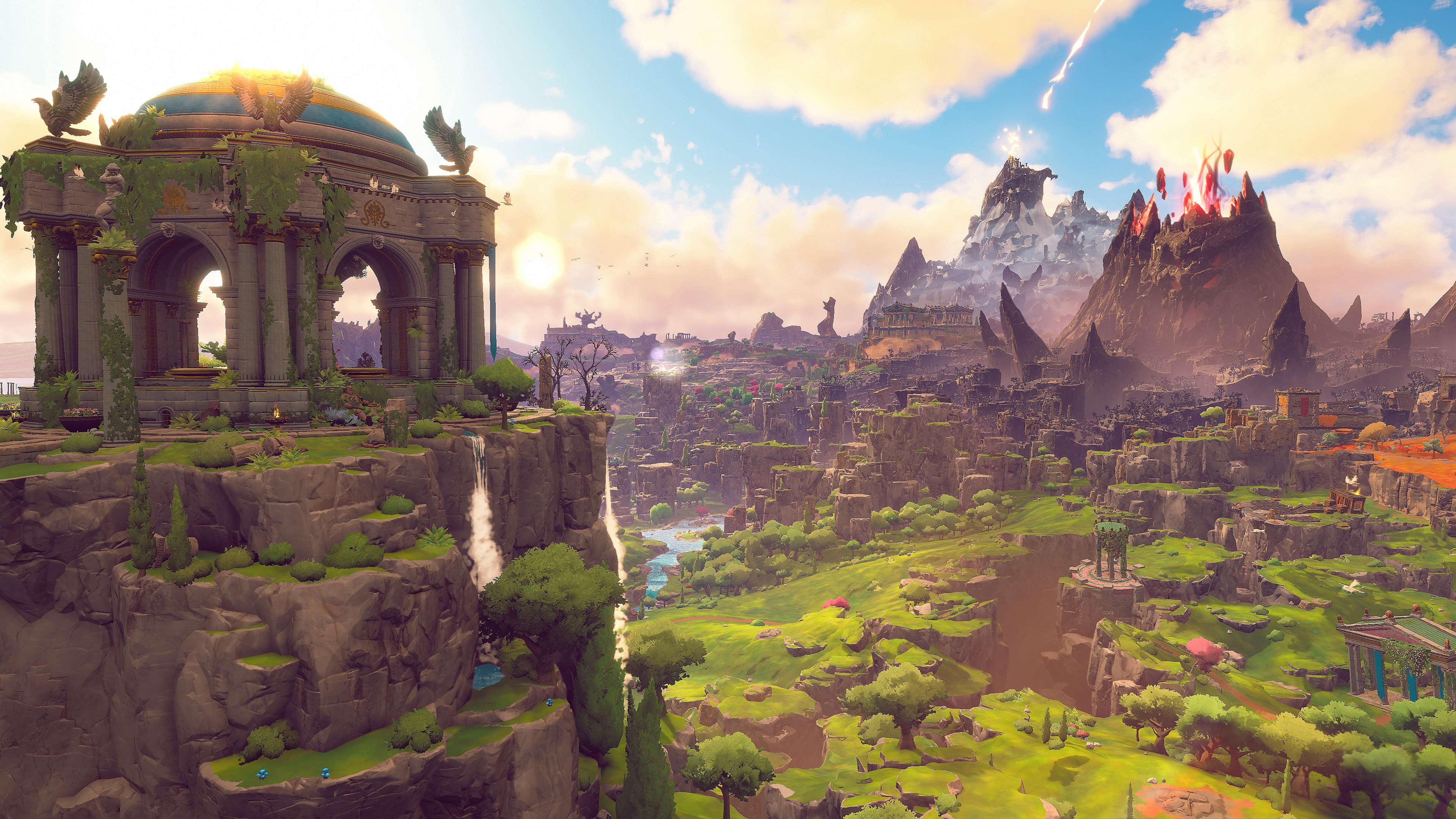 Immortals Fenyx Rising -explore a stylized open world image