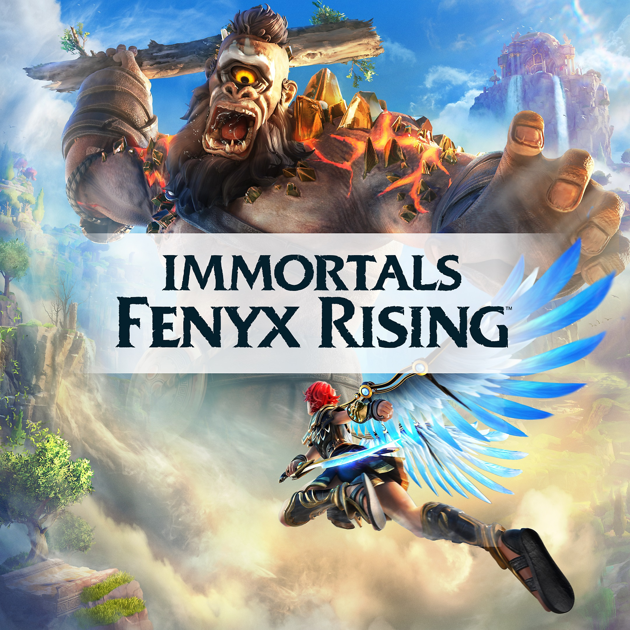 Immortals Fenyx Rising - Store Art
