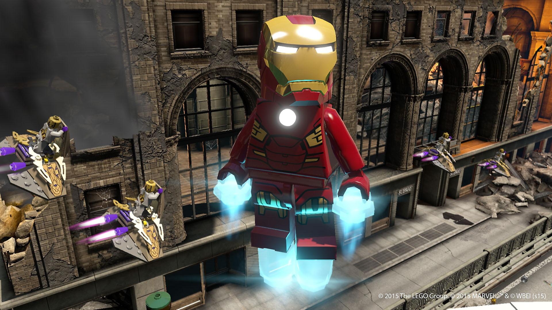 LEGO マーベル アベンジャーズ - Gallery Screenshot 3